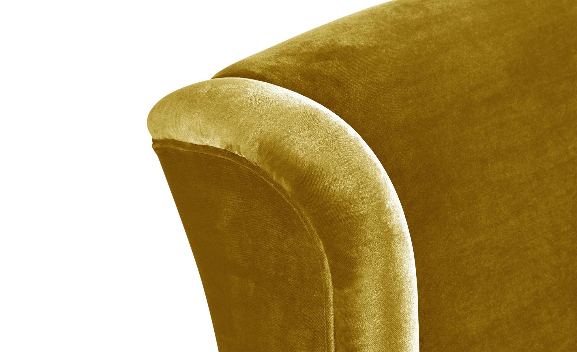 smart Ohrensessel gelb - Stoff Charmaine ¦ gelb ¦ Maße (cm): B: 84 H: 98 T: 85 Polstermöbel > Sessel > Ohrensessel - Höffner