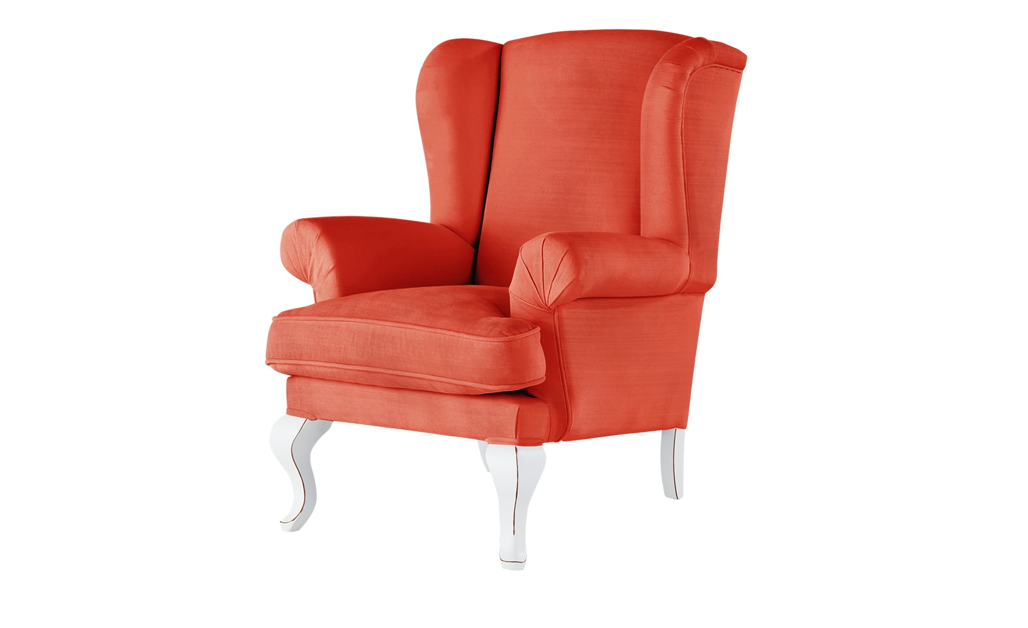 smart Ohrensessel orange - Stoff Charmaine ¦ orange ¦ Maße (cm): B: 84 H: 98 T: 85 Polstermöbel > Sessel > Ohrensessel - Höffner