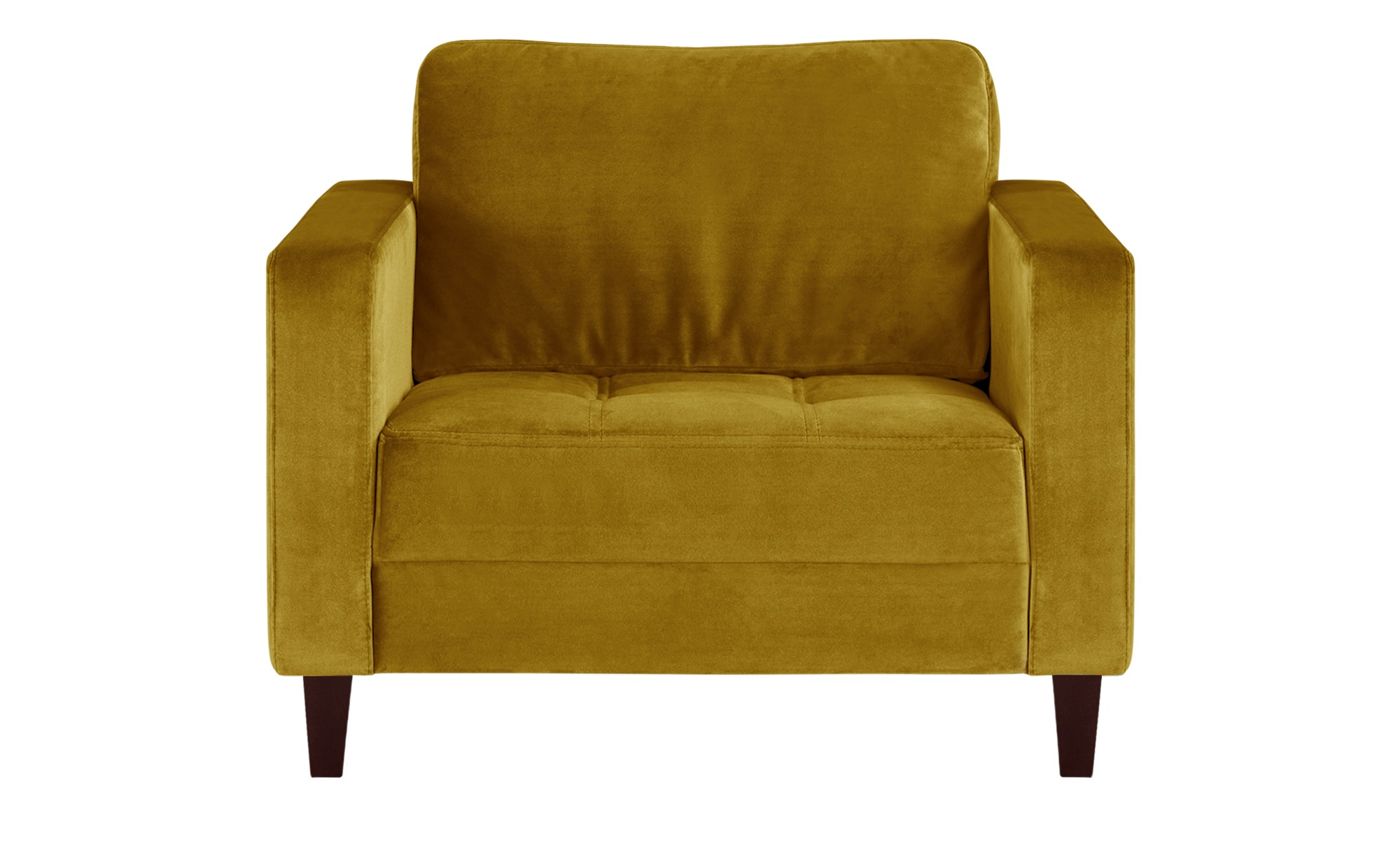 smart Sessel gelb - Stoff Geradine ¦ gelb ¦ Maße (cm): B: 91 H: 93 T: 92 Polstermöbel > Sessel > Polstersessel - Höffner