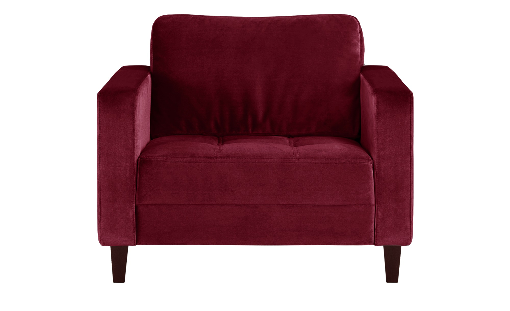 smart Sessel rot - Stoff Geradine ¦ rot ¦ Maße (cm): B: 102 H: 83 T: 91 Polstermöbel > Sessel > Polstersessel - Höffner