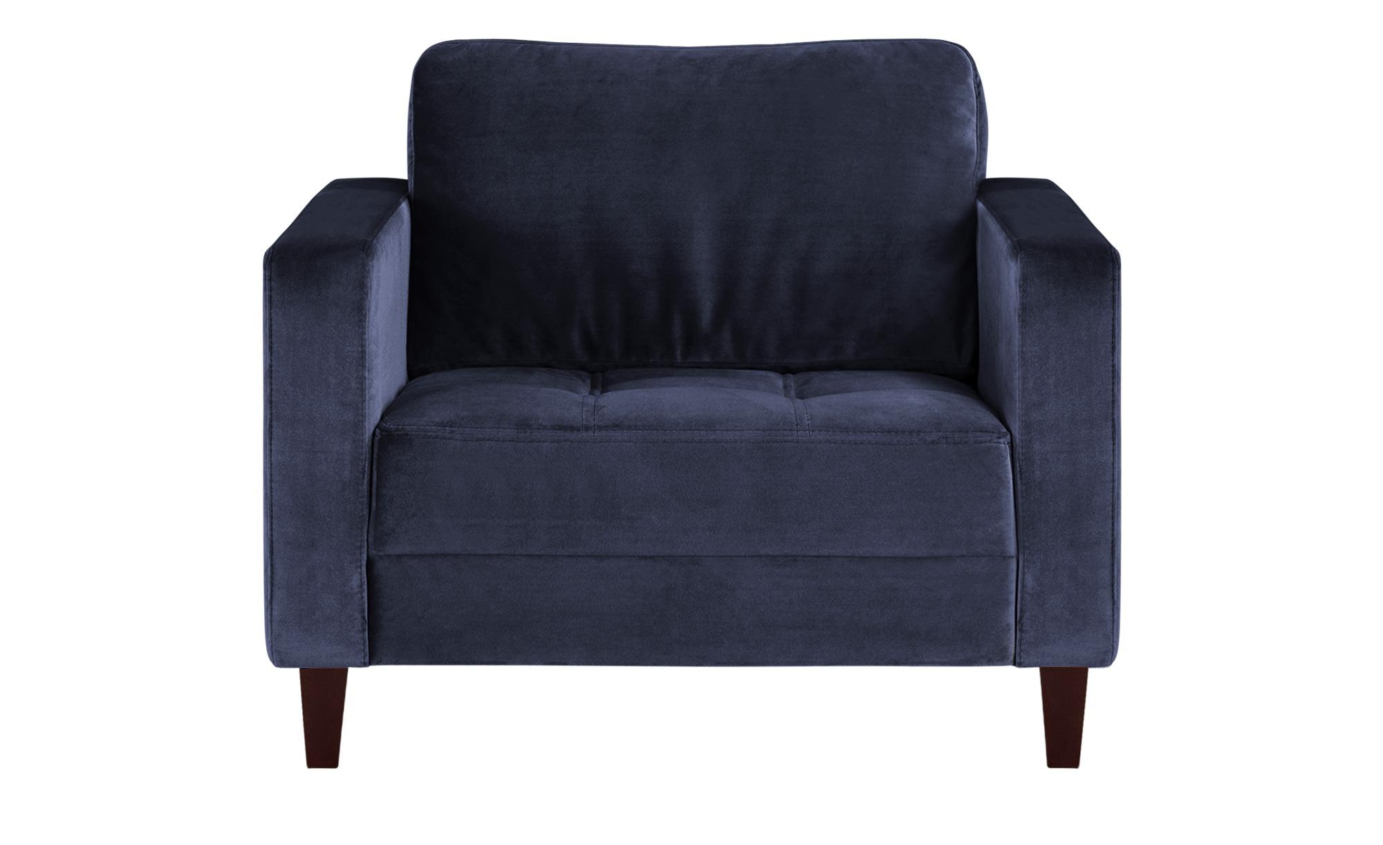 smart Sessel blau - Stoff Geradine ¦ blau ¦ Maße (cm): B: 102 H: 83 T: 91 Polstermöbel > Sessel > Polstersessel - Höffner