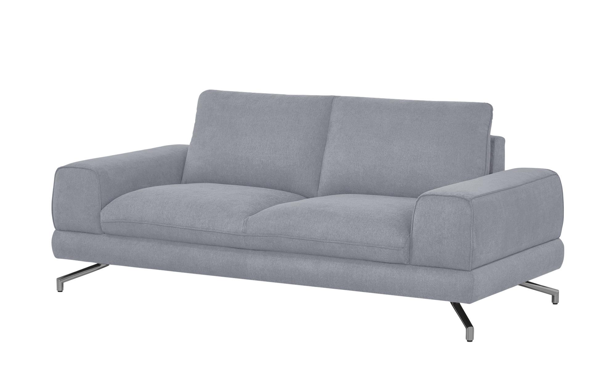smart Sofa grau - Stoff Bonika ¦ grau ¦ Maße (cm): B: 198 H: 83 T: 95 Polstermöbel > Sofas > Einzelsofas - Höffner