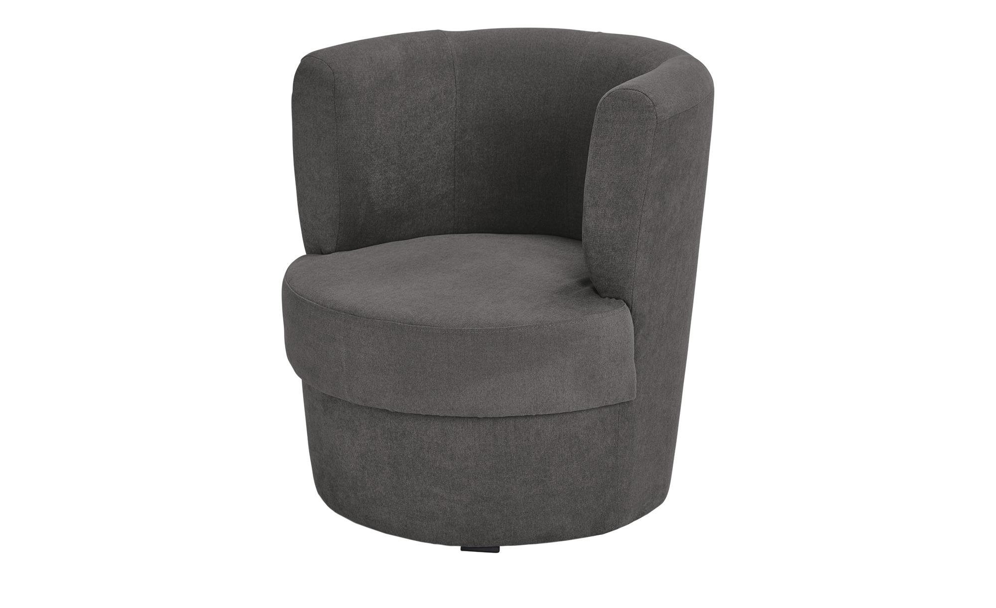 smart Sessel grau - Stoff Marina ¦ grau ¦ Maße (cm): B: 60 H: 69 T: 60 Polstermöbel > Sessel > Polstersessel - Höffner