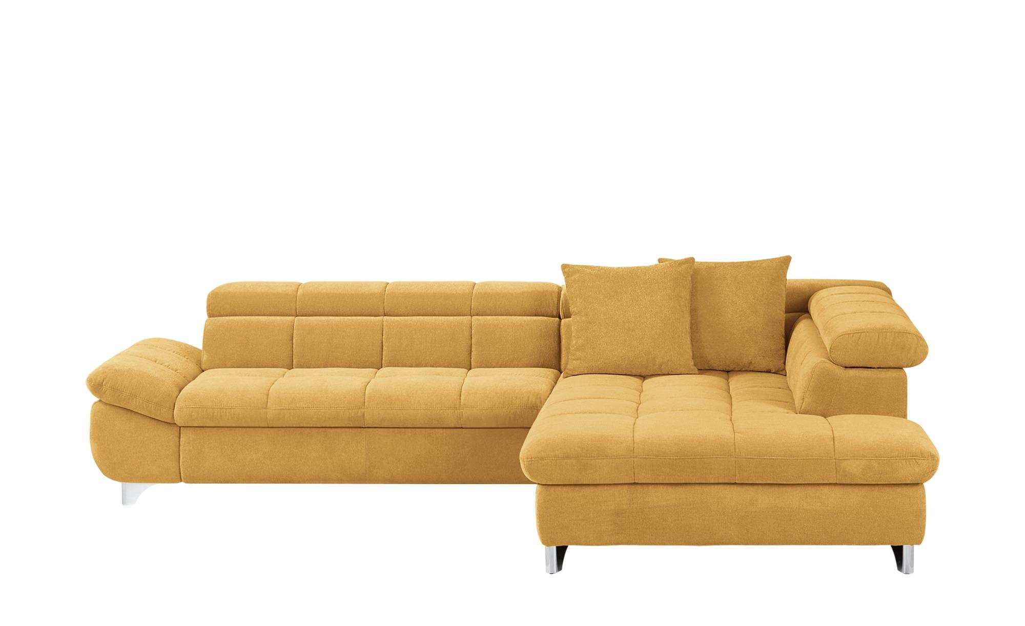 uno Ecksofa  Lorena ¦ gelb ¦ Maße (cm): H: 79 Polstermöbel > Sofas > Ecksofas - Höffner