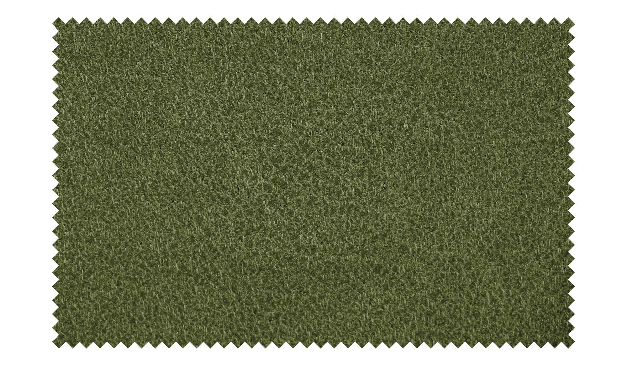 Wohnwert Ecksofa grün - Mikrofaser Indra ¦ grün ¦ Maße (cm): H: 81 Polstermöbel > Sofas > Ecksofas - Höffner