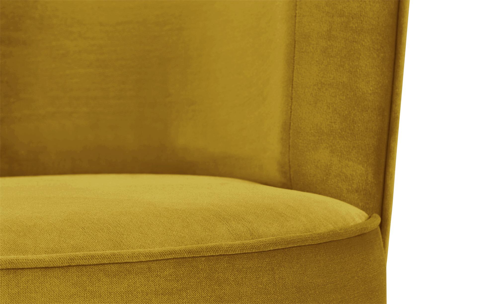 smart Sessel gelb - Stoff Baby ¦ gelb ¦ Maße (cm): B: 76 H: 71 T: 74 Polstermöbel > Sessel > Polstersessel - Höffner