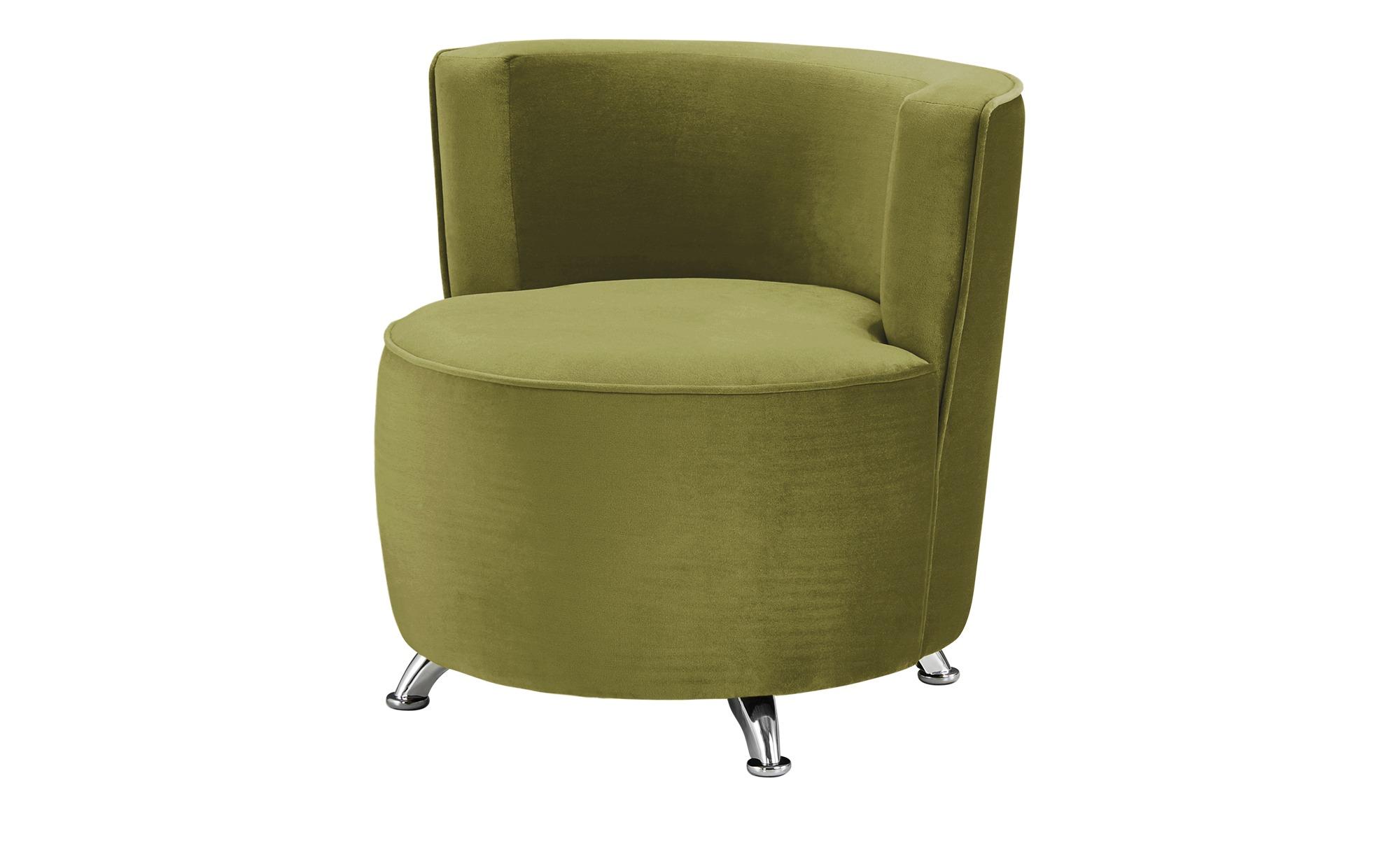 smart Sessel grün - Stoff Baby ¦ grün ¦ Maße (cm): B: 76 H: 71 T: 74 Polstermöbel > Sessel > Polstersessel - Höffner