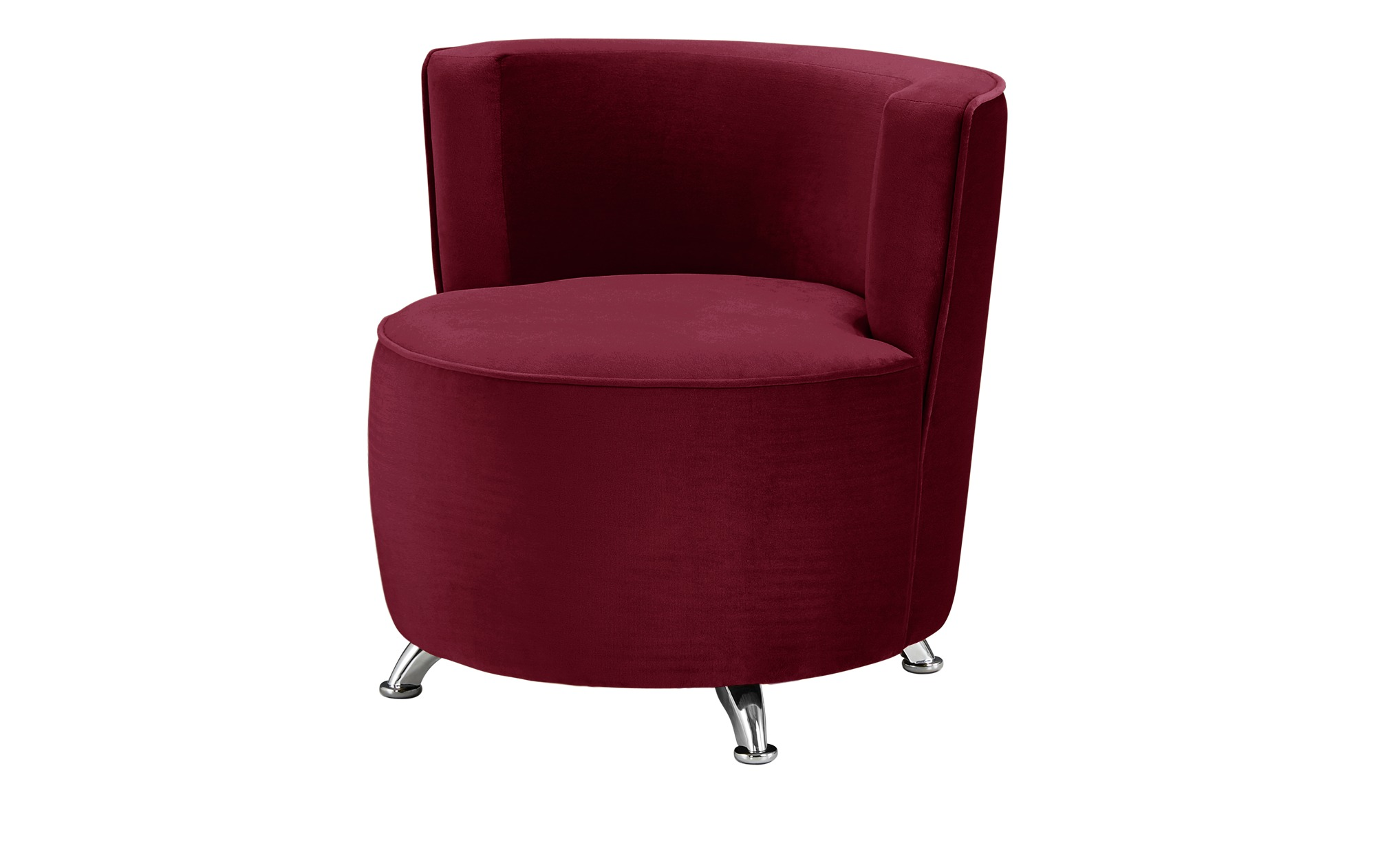 smart Sessel rot - Stoff Baby ¦ rot ¦ Maße (cm): B: 76 H: 71 T: 74 Polstermöbel > Sessel > Polstersessel - Höffner