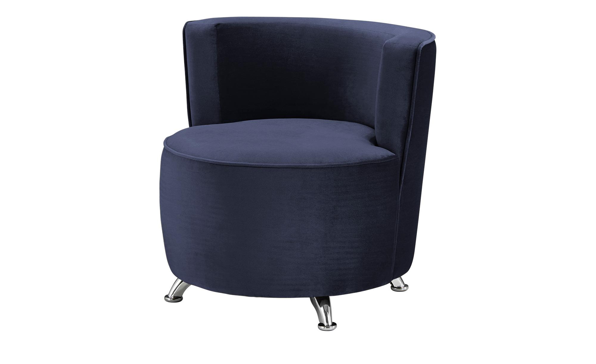 smart Sessel blau - Stoff Baby ¦ blau ¦ Maße (cm): B: 76 H: 71 T: 74 Polstermöbel > Sessel > Polstersessel - Höffner