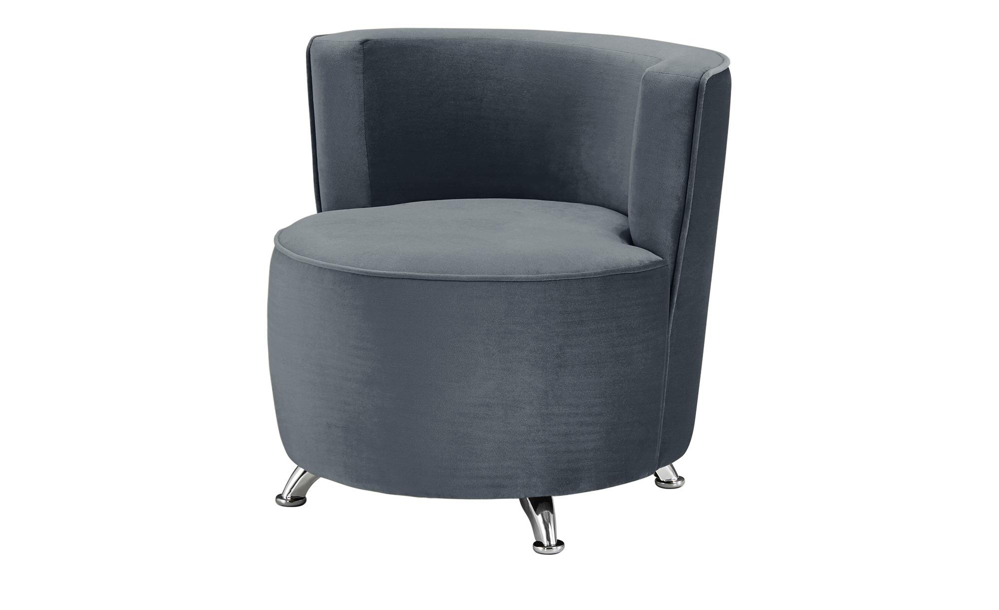 smart Sessel grau - Stoff Baby ¦ grau ¦ Maße (cm): B: 76 H: 71 T: 74 Polstermöbel > Sessel > Polstersessel - Höffner