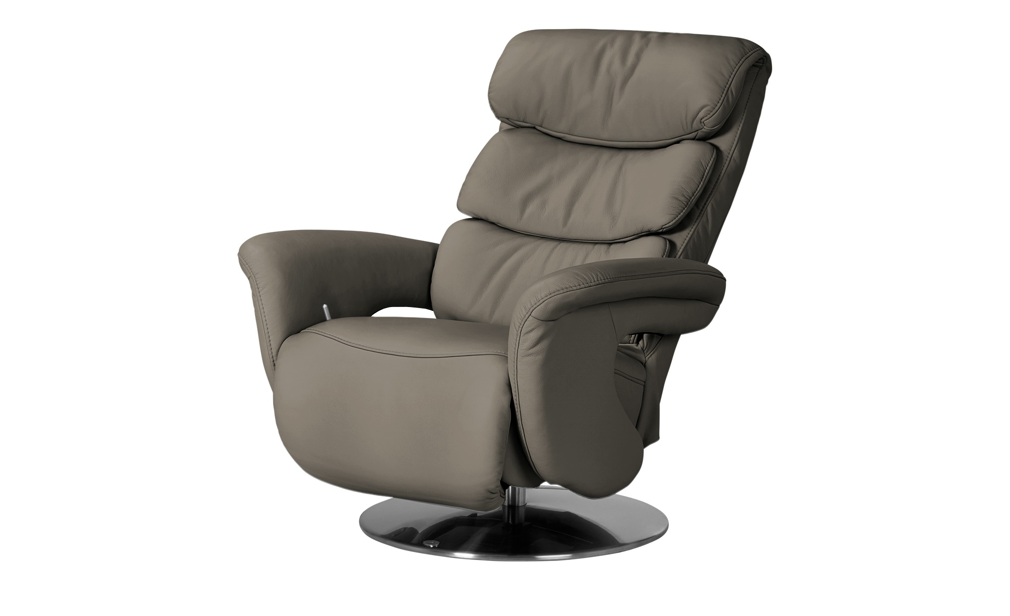 Leder-Relaxsessel beige - Leder Viktoria ¦ beige ¦ Maße (cm): B: 83 H: 107 T: 88 Polstermöbel > Sessel > Fernsehsessel - Höffner