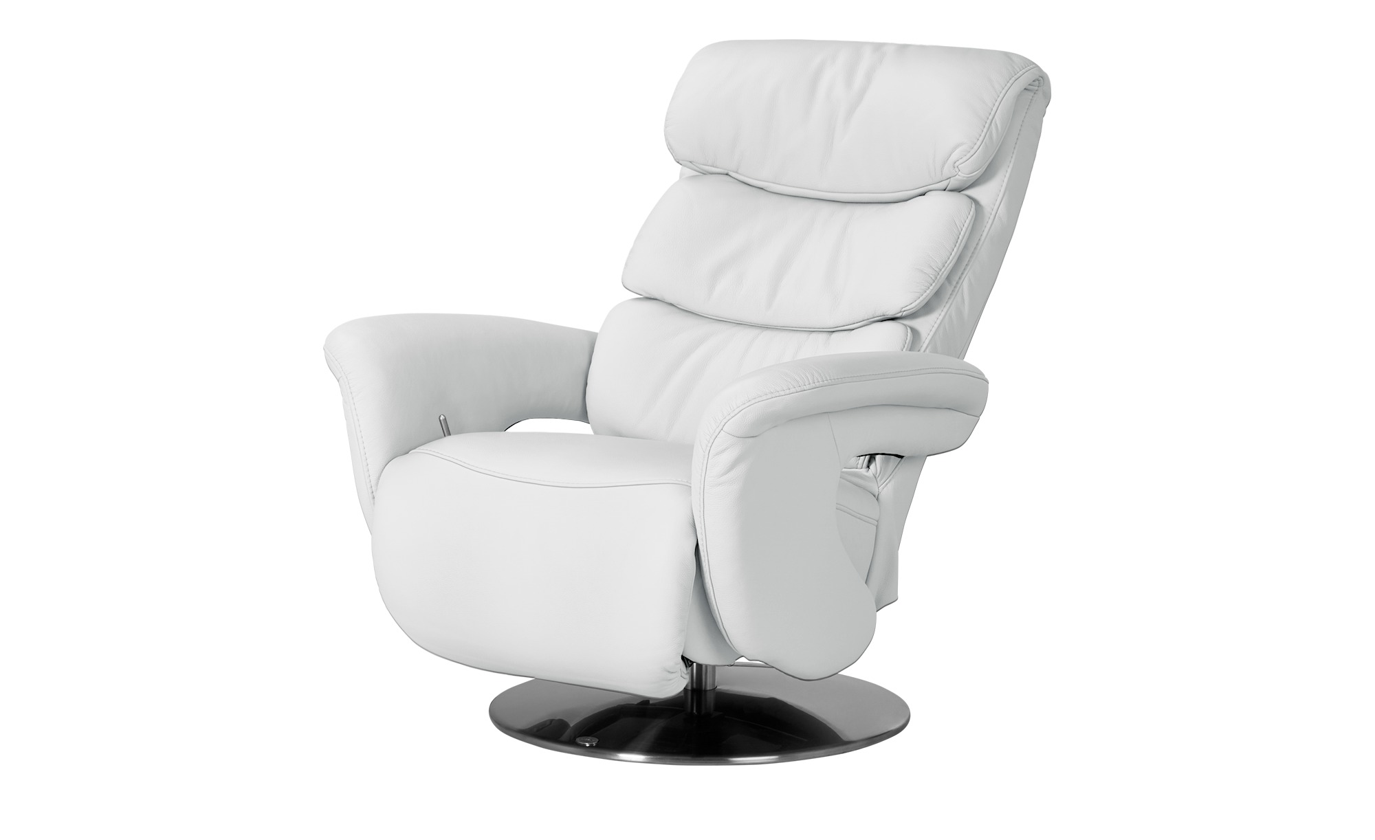 himolla Leder-Relaxsessel weiß - Leder 7228 ¦ weiß ¦ Maße (cm): B: 83 H: 107 T: 88 Polstermöbel > Sessel > Fernsehsessel - Höffner