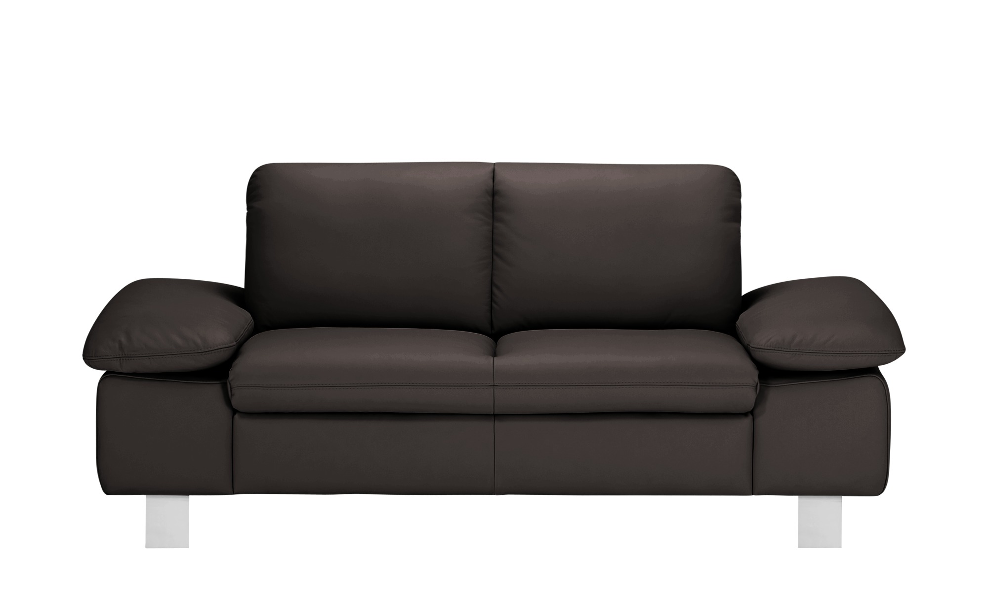 smart Sofa  Finola ¦ braun ¦ Maße (cm): B: 181 H: 83 T: 94 Polstermöbel > Sofas > 2-Sitzer - Höffner