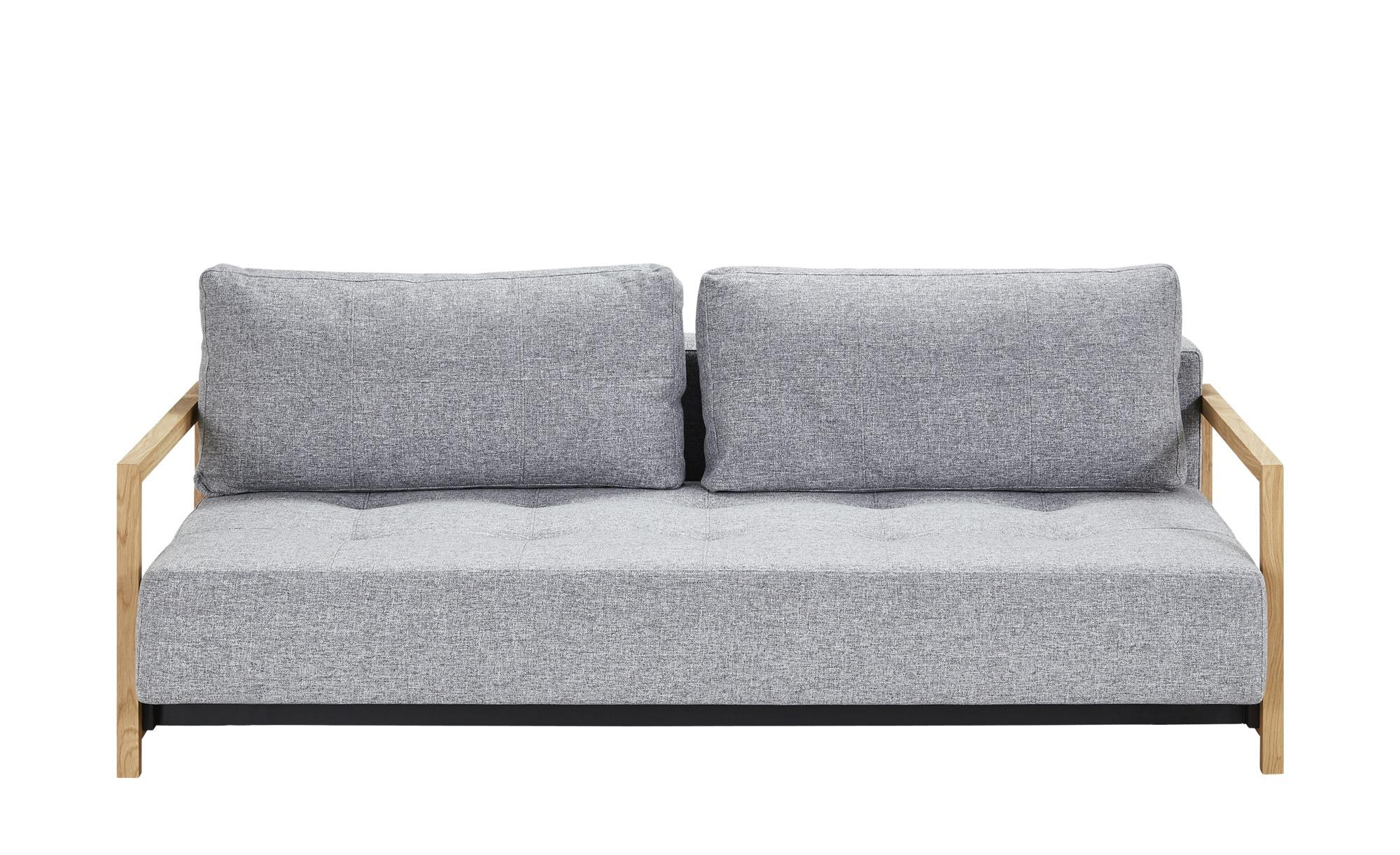 Schlafsofa  Akkito ¦ grau ¦ Maße (cm): B: 210 H: 70 T: 162 Polstermöbel > Sofas > Einzelsofas - Höffner