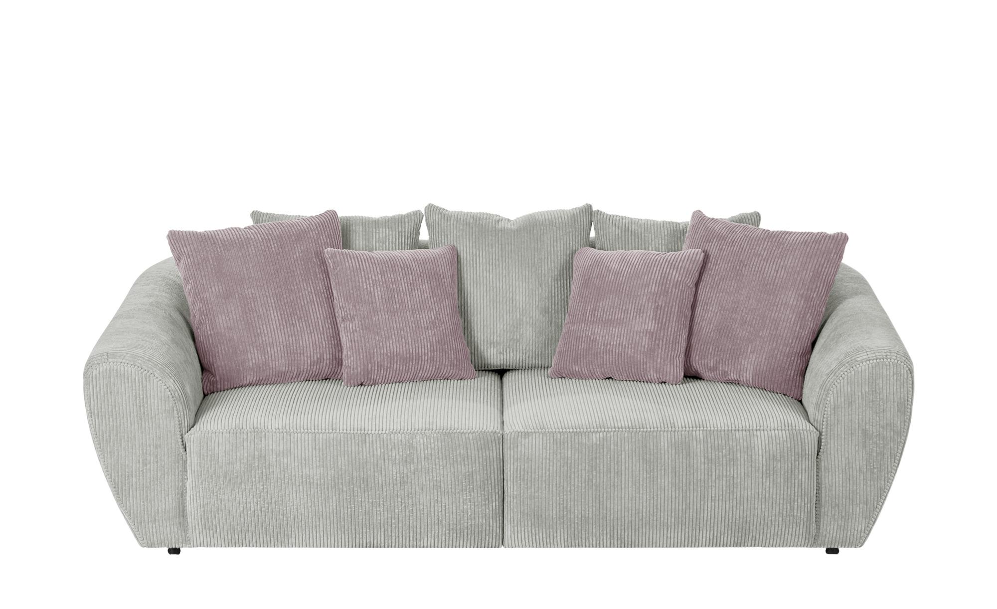 smart Big Sofa  Savita ¦ beige ¦ Maße (cm): B: 255 H: 90 T: 113 Polstermöbel > Sofas > 3-Sitzer - Höffner
