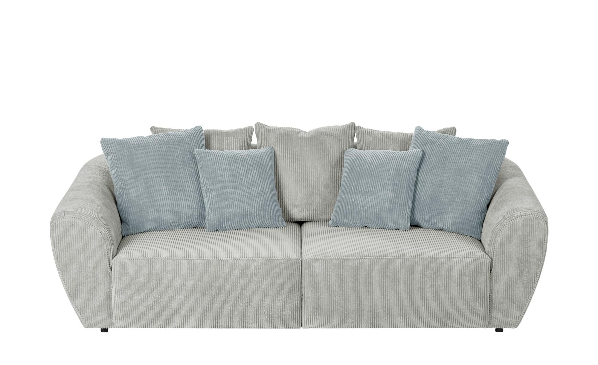 smart Big Sofa  Savita ¦ Maße (cm): B: 255 H: 90 T: 113 Polstermöbel > Sofas > 3-Sitzer - Höffner