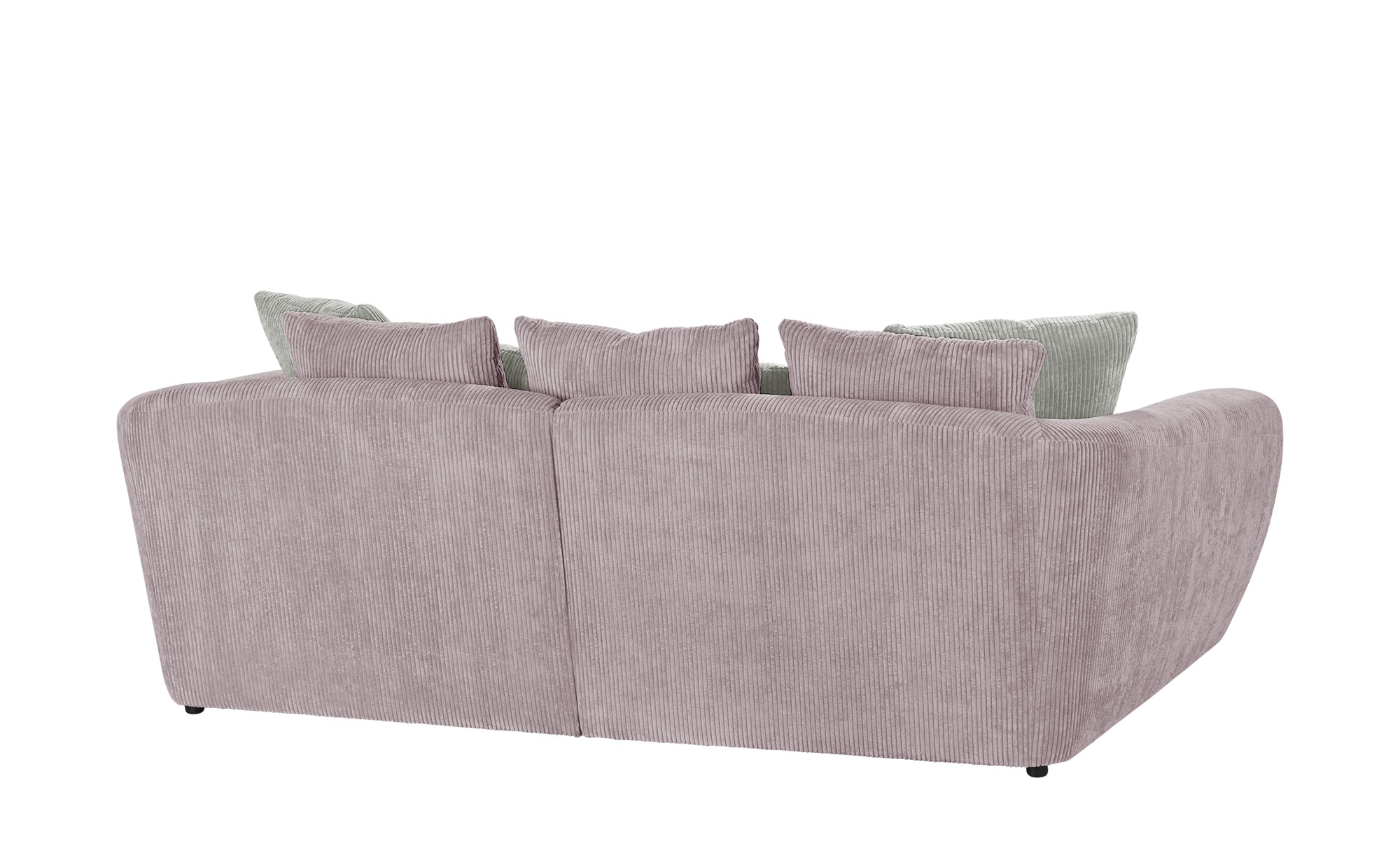 smart Big Sofa  Savita ¦ rosa/pink ¦ Maße (cm): B: 255 H: 90 T: 113 Polstermöbel > Sofas > 3-Sitzer - Höffner