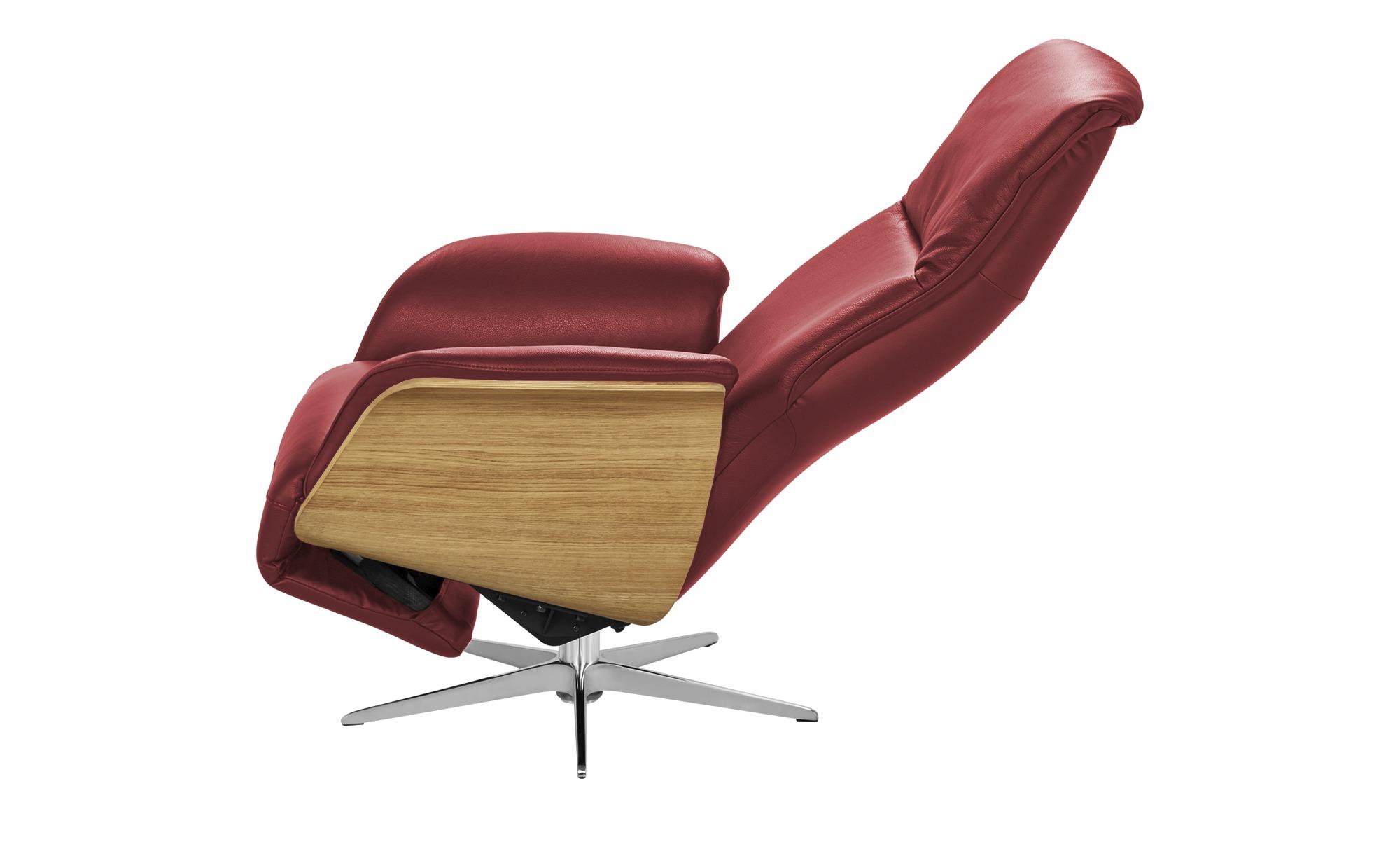 Nils Olsen Relaxsessel  Frederik ¦ rot ¦ Maße (cm): B: 78 H: 113 T: 79 Polstermöbel > Sessel > Fernsehsessel - Höffner