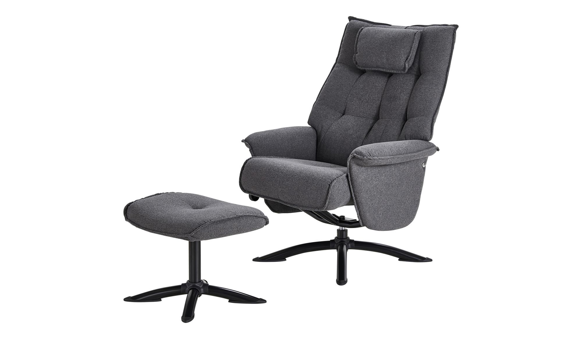 Relaxsessel grau - Stoff Betsy ¦ grau Polstermöbel > Sessel > Fernsehsessel - Höffner