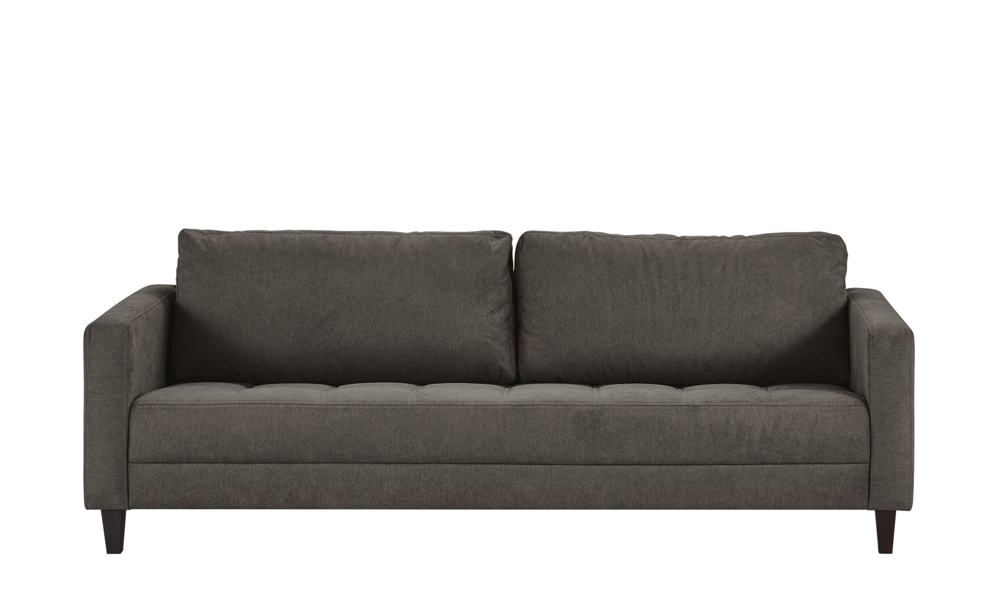 smart Sofa grau - Flachgewebe Geradine ¦ grau ¦ Maße (cm): B: 226 H: 93 T: 92 Polstermöbel > Sofas > 3-Sitzer - Höffner