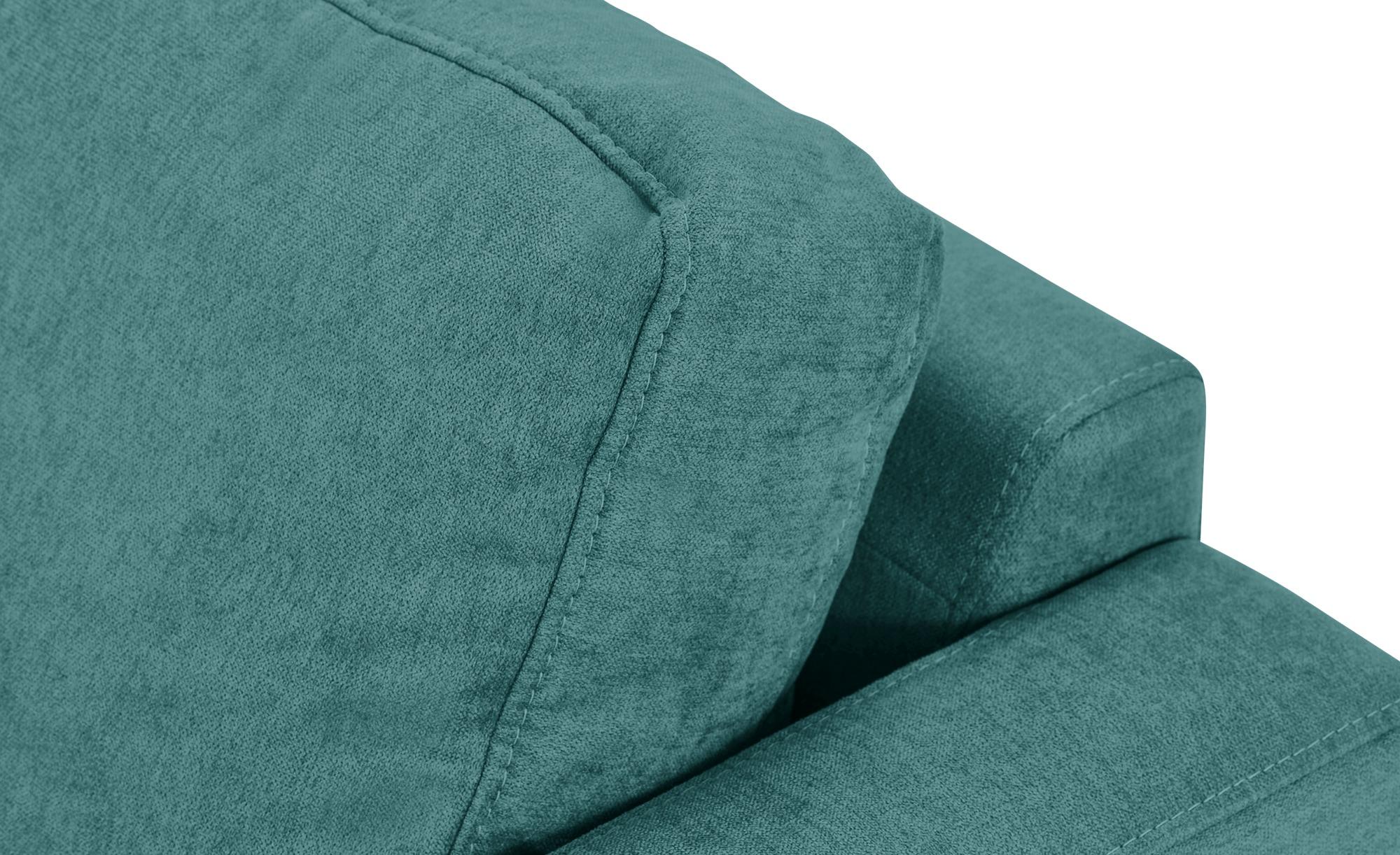 smart Sessel petrol - Stoff Geradine ¦ türkis/petrol ¦ Maße (cm): B: 91 H: 93 T: 92 Polstermöbel > Sessel > Polstersessel - Höffner