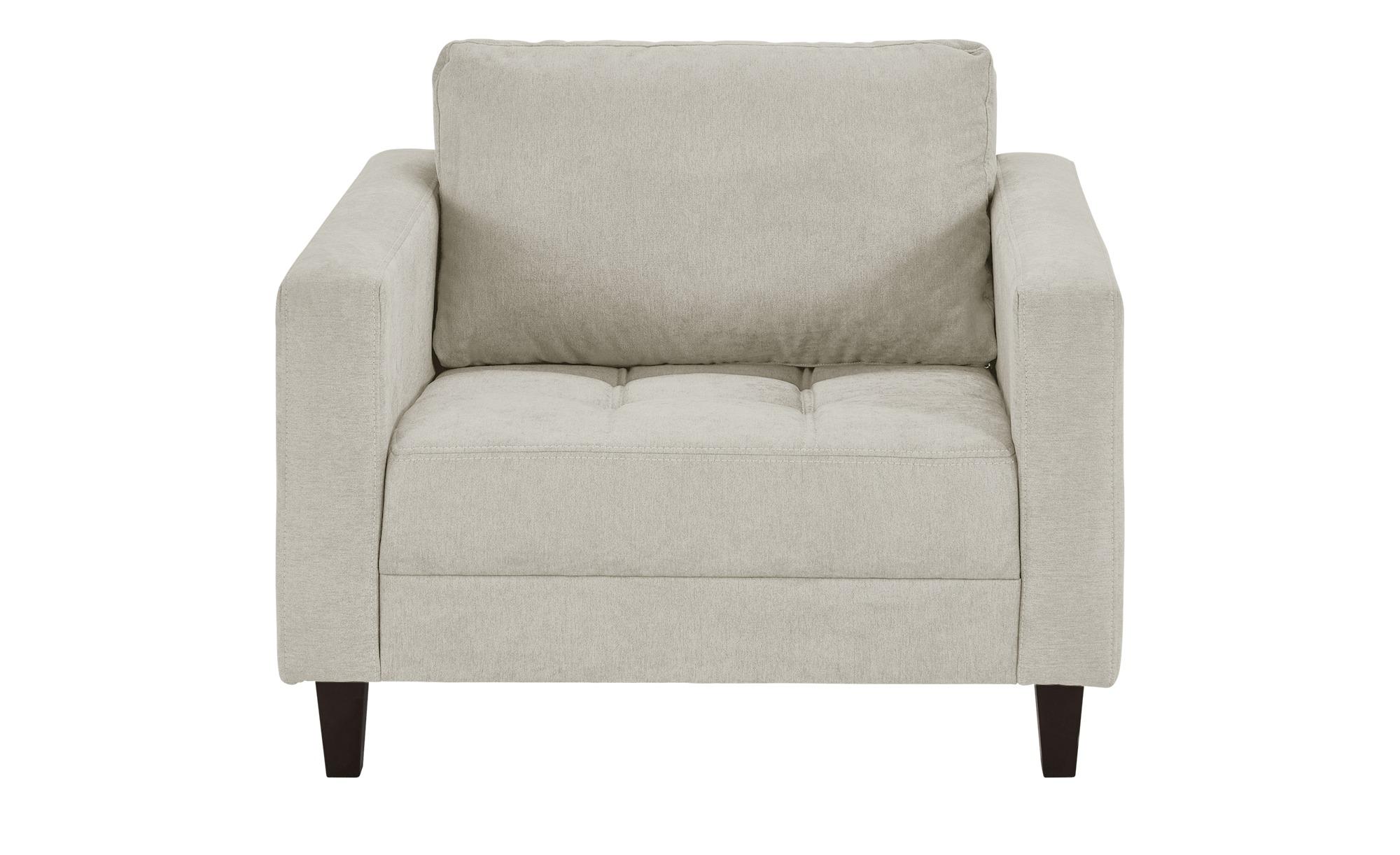 smart Sessel weiß - Stoff Geradine ¦ weiß ¦ Maße (cm): B: 102 H: 83 T: 91 Polstermöbel > Sessel > Polstersessel - Höffner