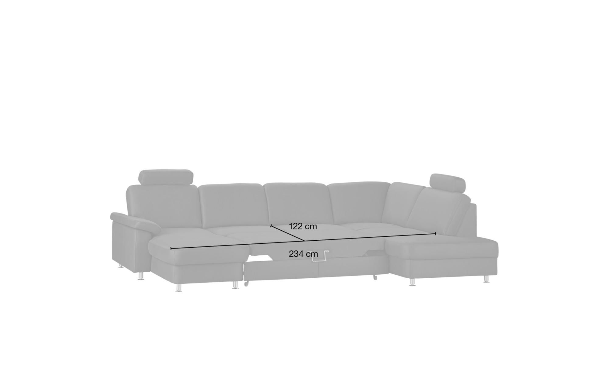 meinsofa wohnlandschaft braun mikrofaser oliver s. Black Bedroom Furniture Sets. Home Design Ideas