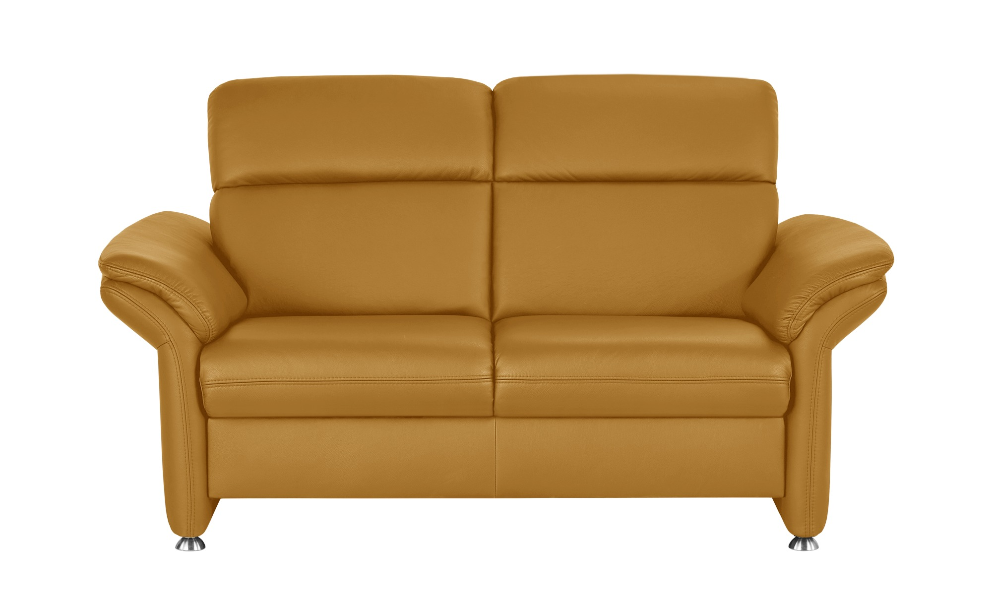 meinSofa Ledersofa gelb - Leder Manon ¦ gelb ¦ Maße (cm): B: 170 H: 94 T: 92 Polstermöbel > Sofas > 2-Sitzer - Höffner