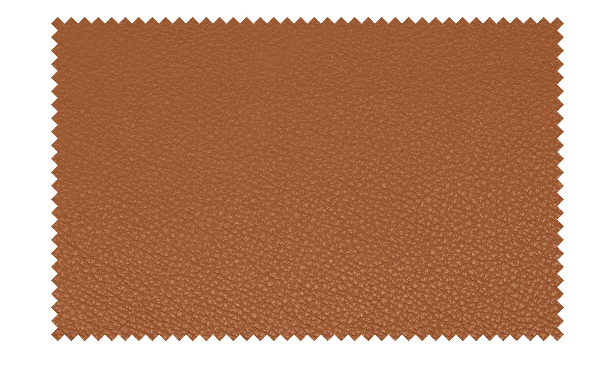 meinSofa Ledersofa orange-braun - Leder Manon ¦ orange ¦ Maße (cm): B: 170 H: 94 T: 92 Polstermöbel > Sofas > 2-Sitzer - Höffner