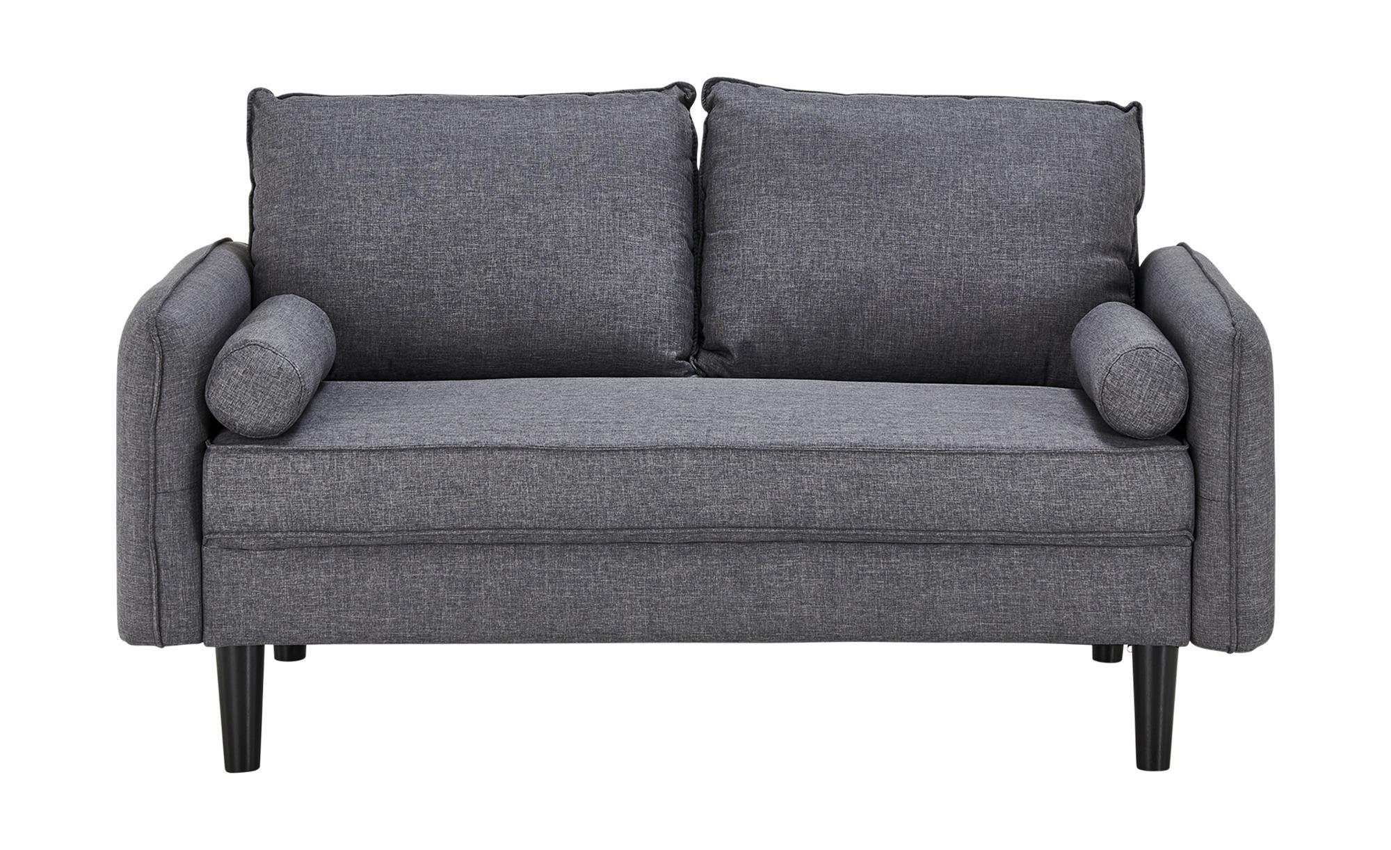 Sofa 2-sitzig  Quinn ¦ grau ¦ Maße (cm): B: 151 H: 83 T: 82 Polstermöbel > Sofas > 2-Sitzer - Höffner