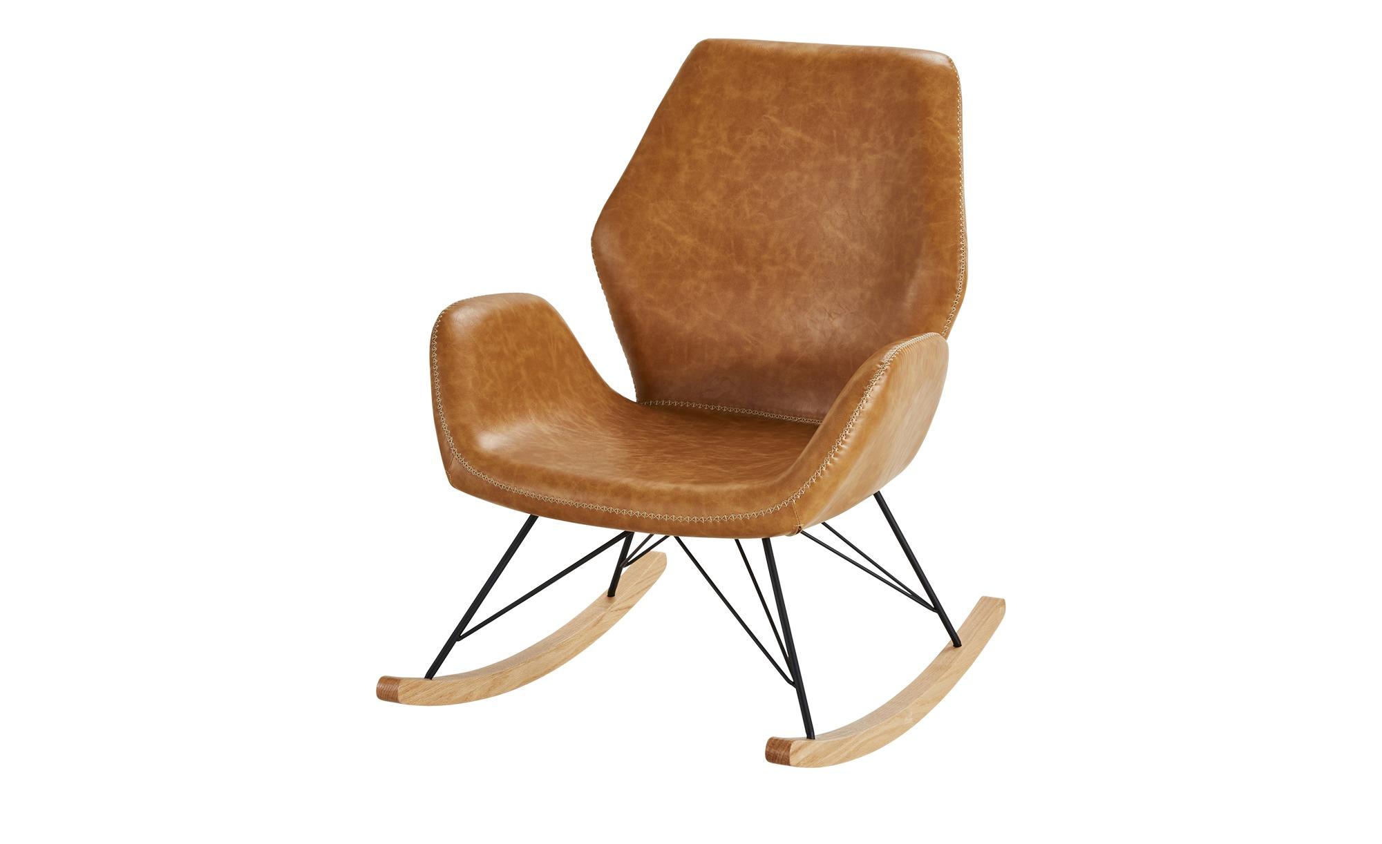 Schaukelsessel braun Theo ¦ braun ¦ Maße (cm): B: 74 H: 94 T: 85 Polstermöbel > Sessel > Polstersessel - Höffner