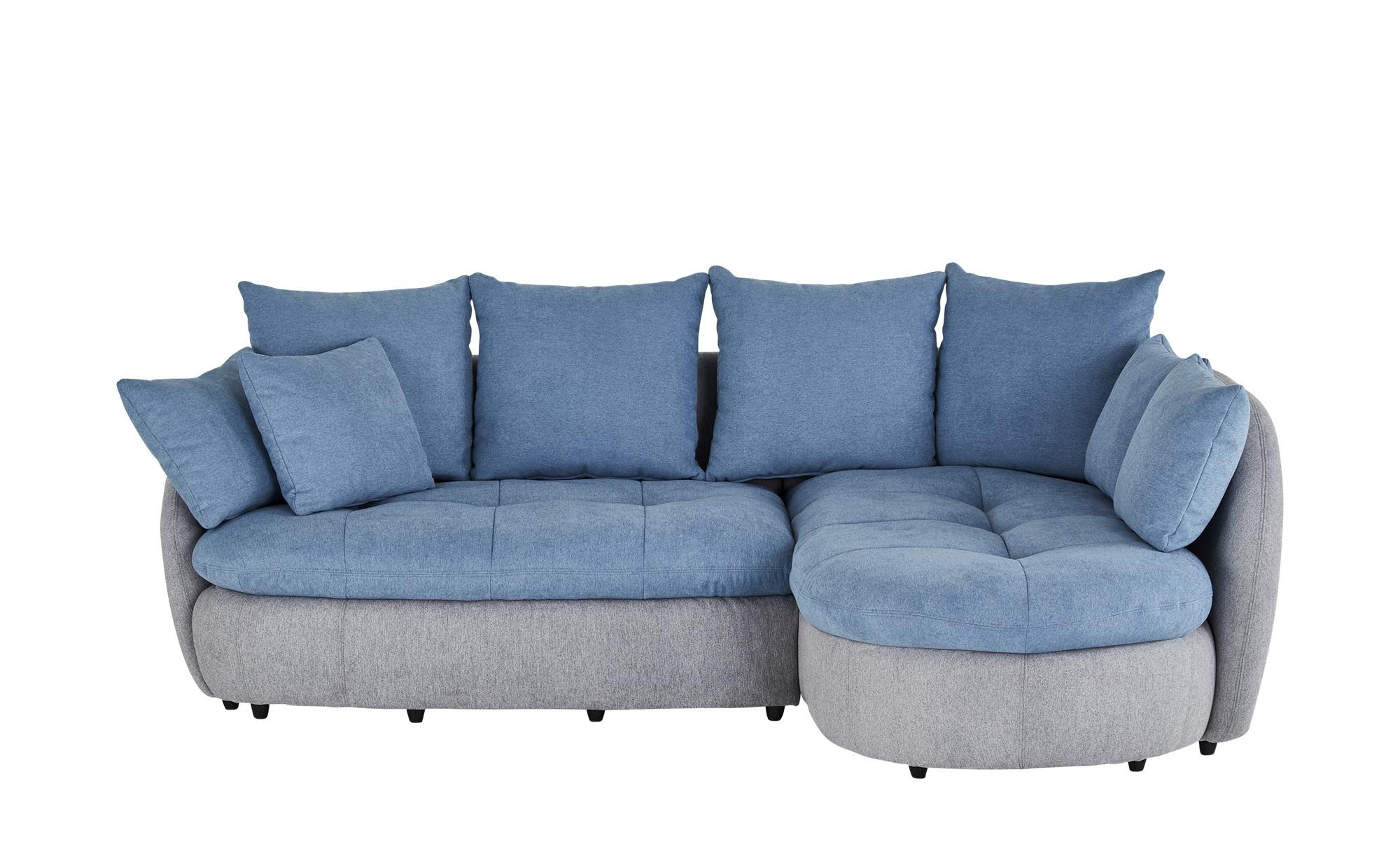 uno Ecksofa  Leslie ¦ blau Polstermöbel > Sofas > Ecksofas - Höffner