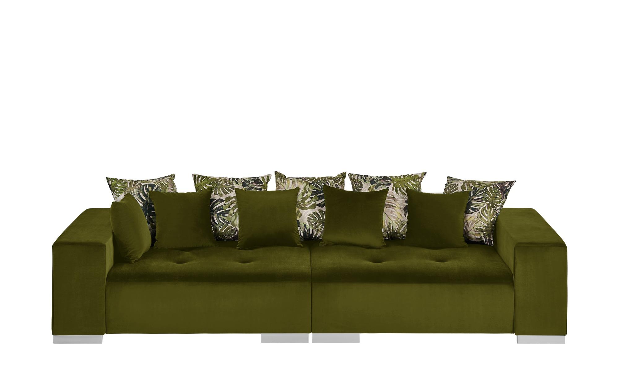 switch Big Sofa  Max ¦ grün ¦ Maße (cm): B: 300 H: 85 T: 136 Polstermöbel > Sofas > Big-Sofas - Höffner