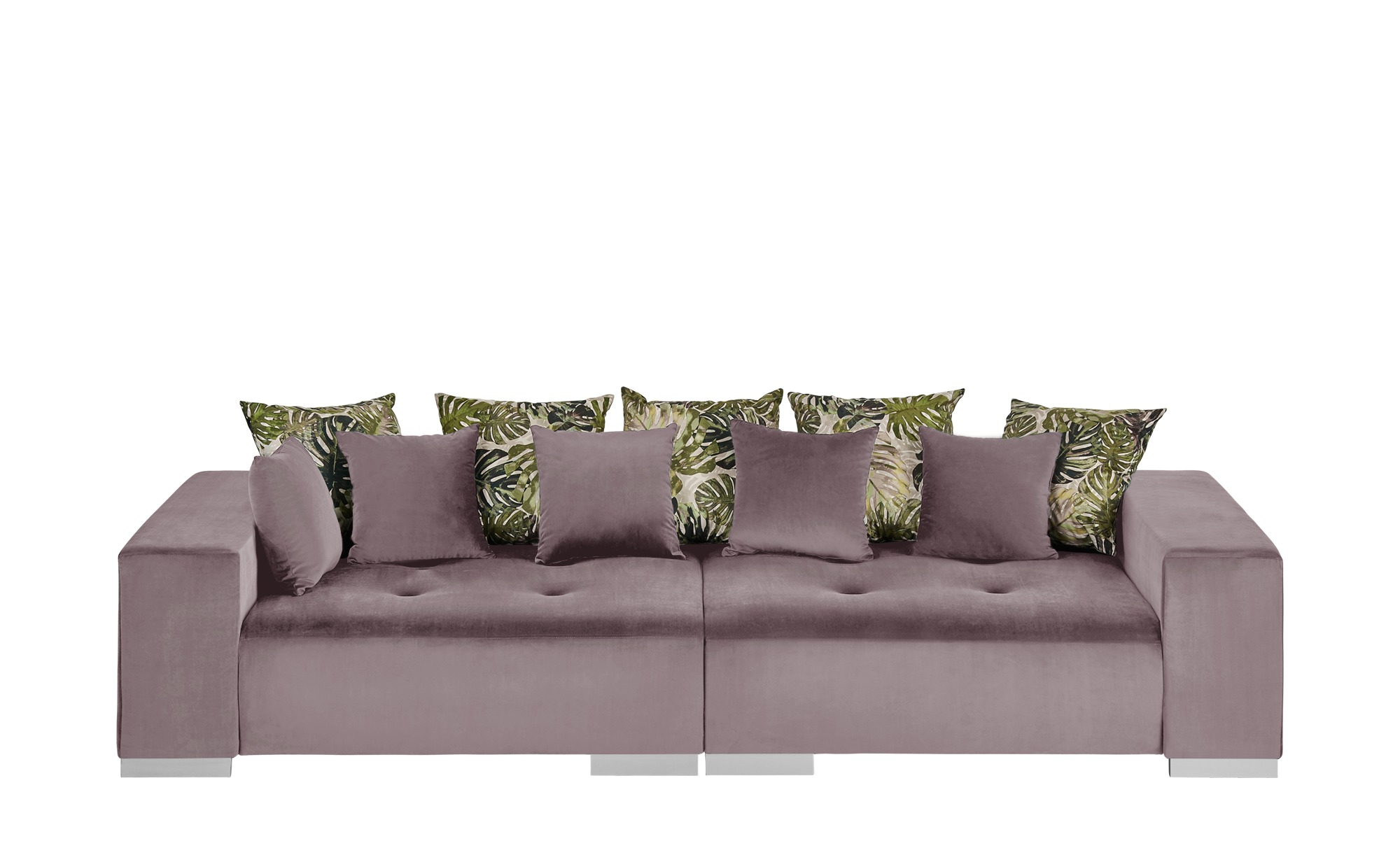 switch Big Sofa  Max ¦ rosa/pink ¦ Maße (cm): B: 300 H: 85 T: 136 Polstermöbel > Sofas > Big-Sofas - Höffner