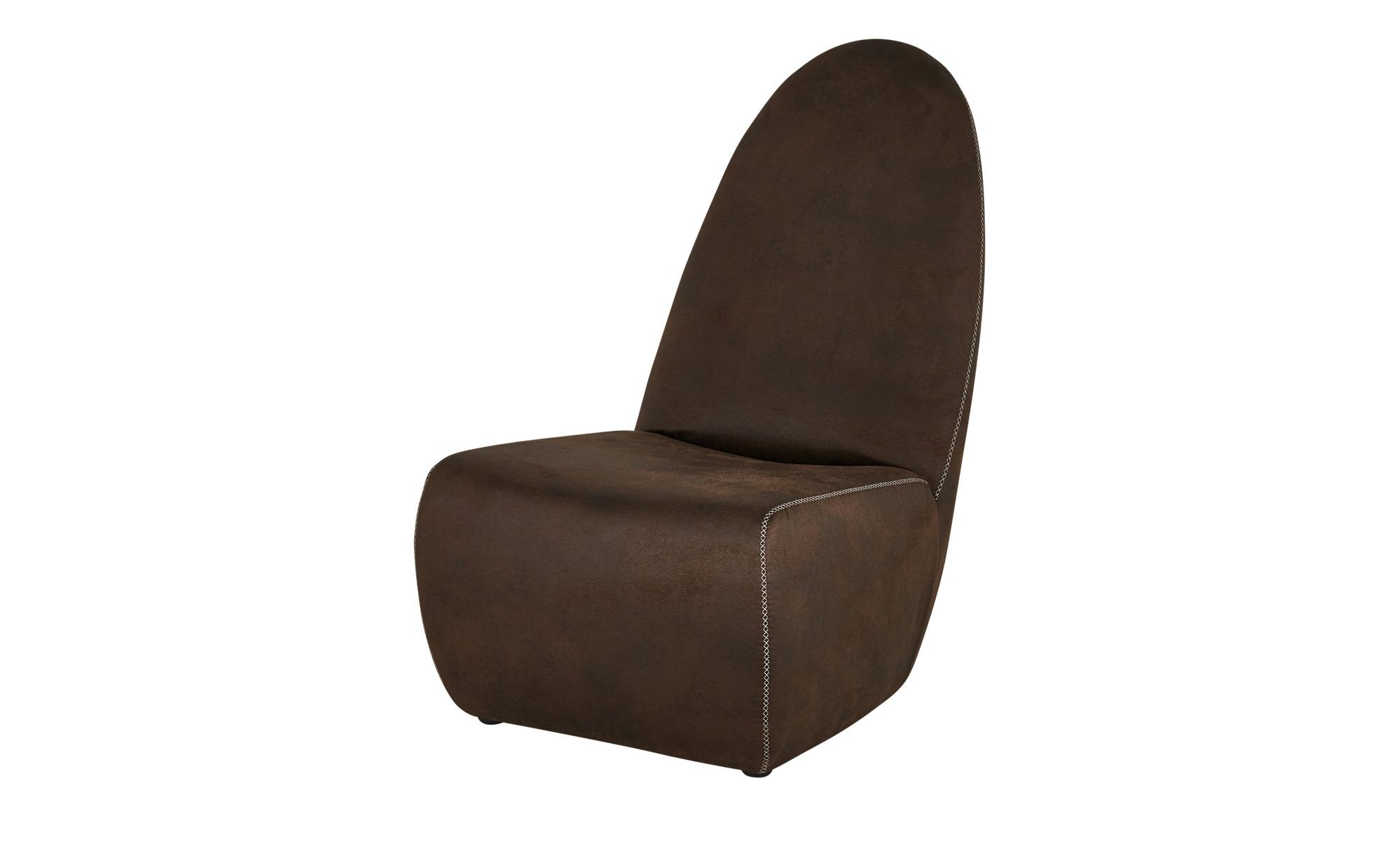 Sessel  Sarah ¦ braun ¦ Maße (cm): B: 65 H: 93 T: 90 Polstermöbel > Sessel > Polstersessel - Höffner