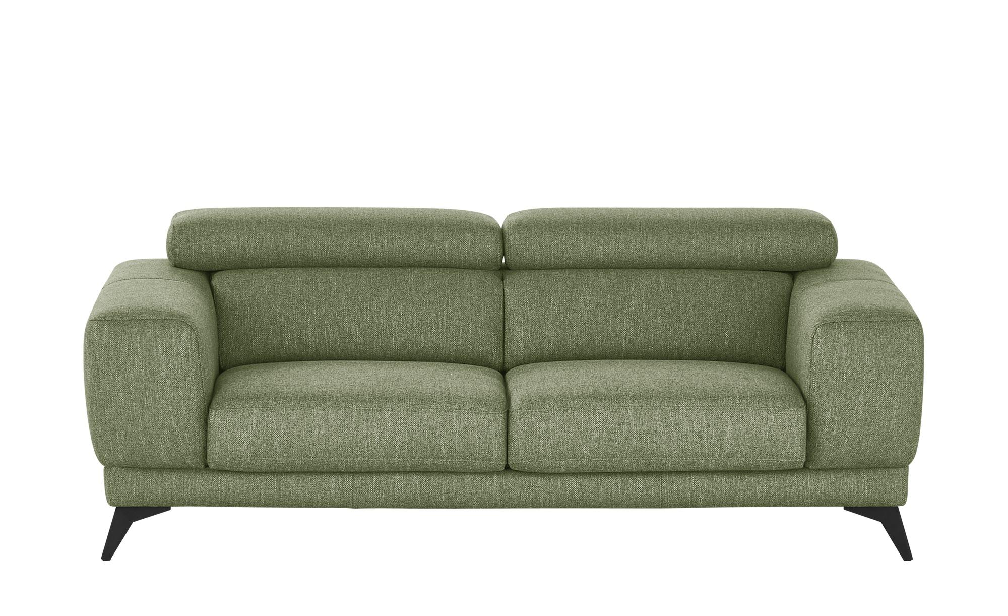 Sofa grün - Webstoff Opera ¦ grün ¦ Maße (cm): B: 202 H: 76 T: 106 Polstermöbel > Sofas > Einzelsofas - Höffner