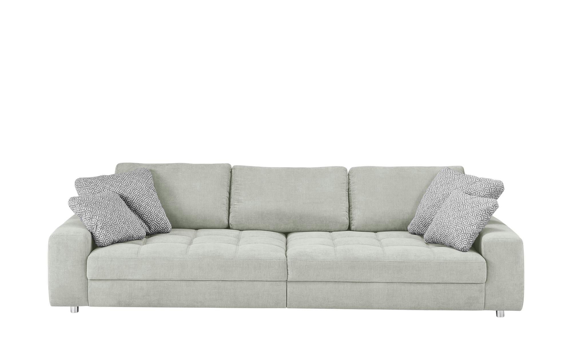 bobb Big Sofa grau - Flachgewebe Arissa ¦ grau ¦ Maße (cm): B: 292 H: 84 T: 120 Polstermöbel > Sofas > Big-Sofas - Höffner