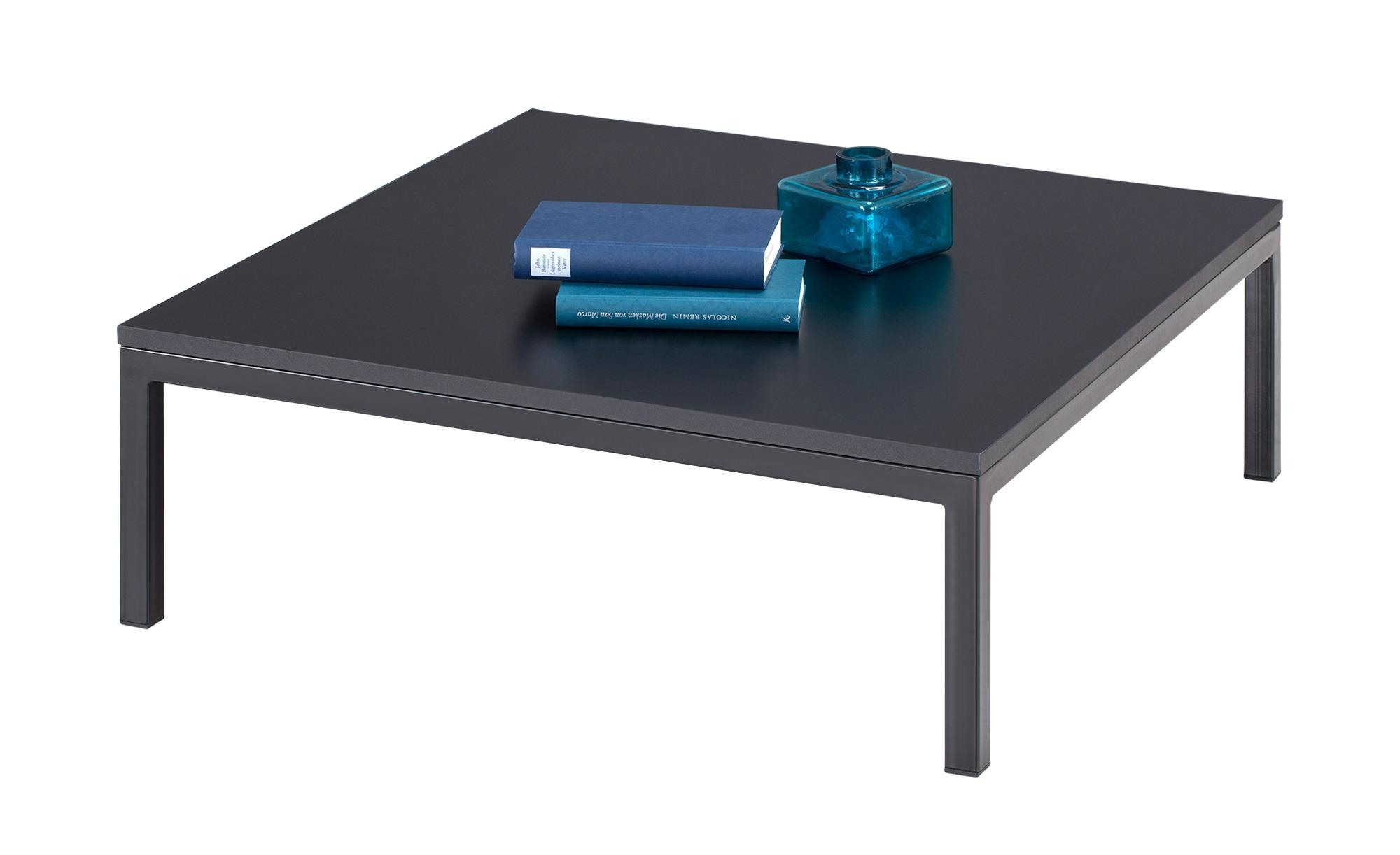 Couchtisch  Laura ¦ schwarz ¦ Maße (cm): B: 80 H: 30 T: 80 Tische > Couchtische > Couchtische rechteckig - Höffner