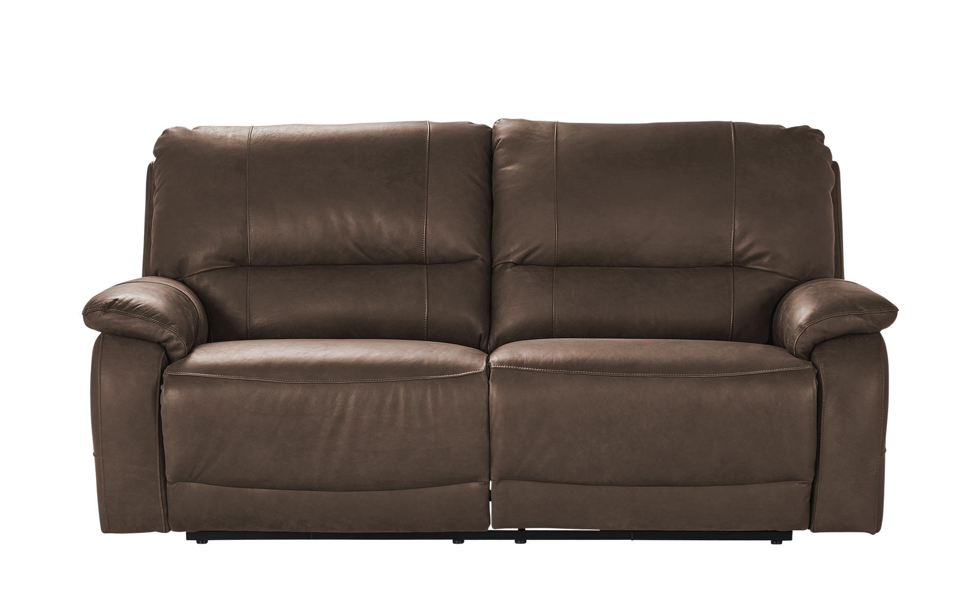 Wohnwert 3-Sitzer mit Relaxfunktion  Adelma ¦ braun ¦ Maße (cm): B: 206 H: 98 T: 103 Polstermöbel > Sofas > 3-Sitzer - Höffner