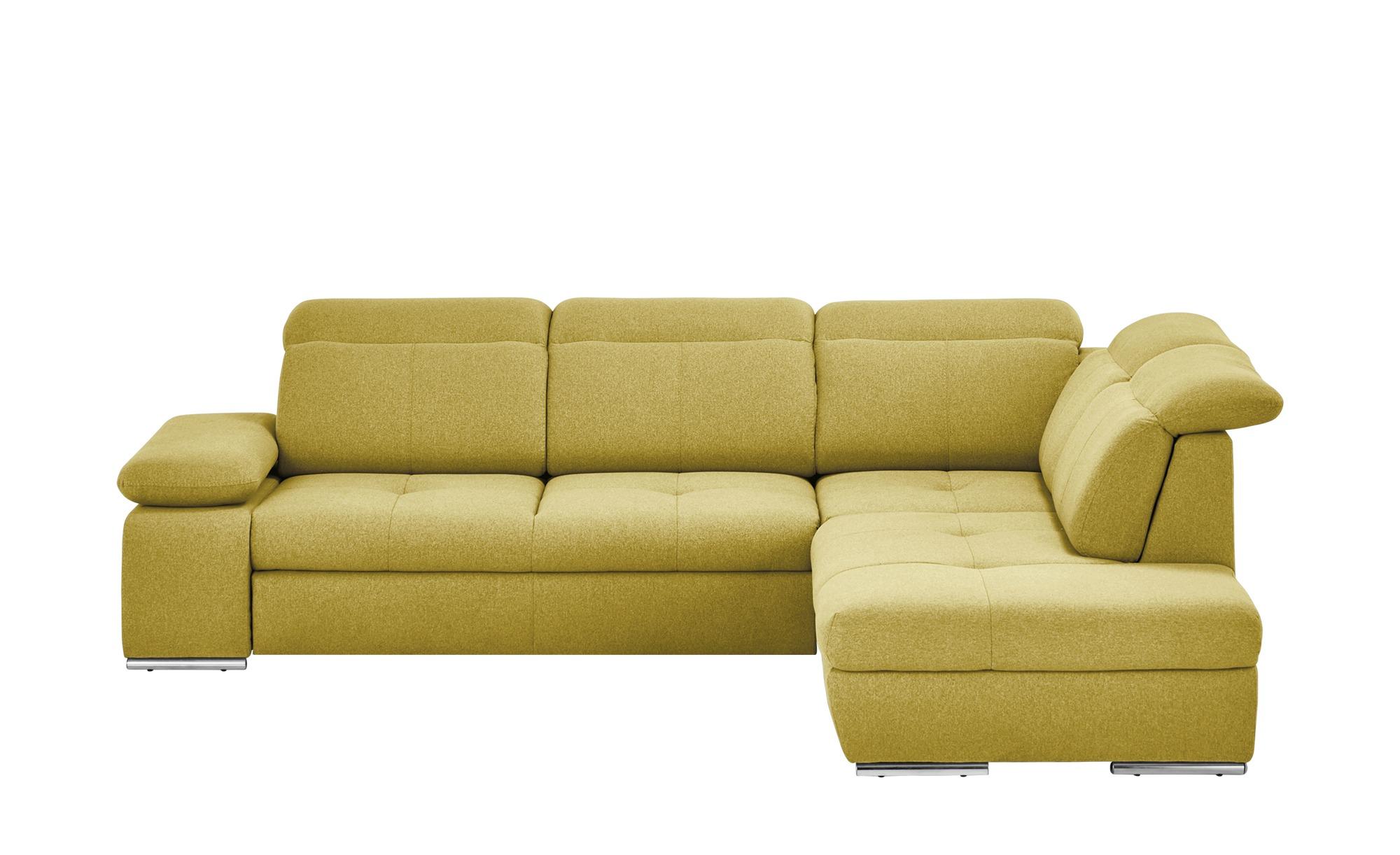 switch Ecksofa gelb - Webstoff Avilla ¦ gelb ¦ Maße (cm): H: 86 Polstermöbel > Sofas > Ecksofas - Höffner