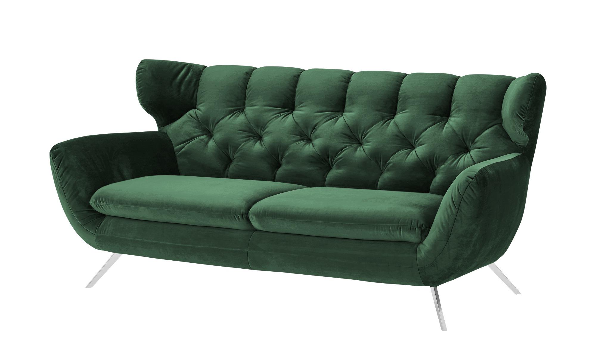 Sofa  Caldara ¦ grün ¦ Maße (cm): B: 200 H: 94 T: 95 Polstermöbel > Sofas > Einzelsofas - Höffner