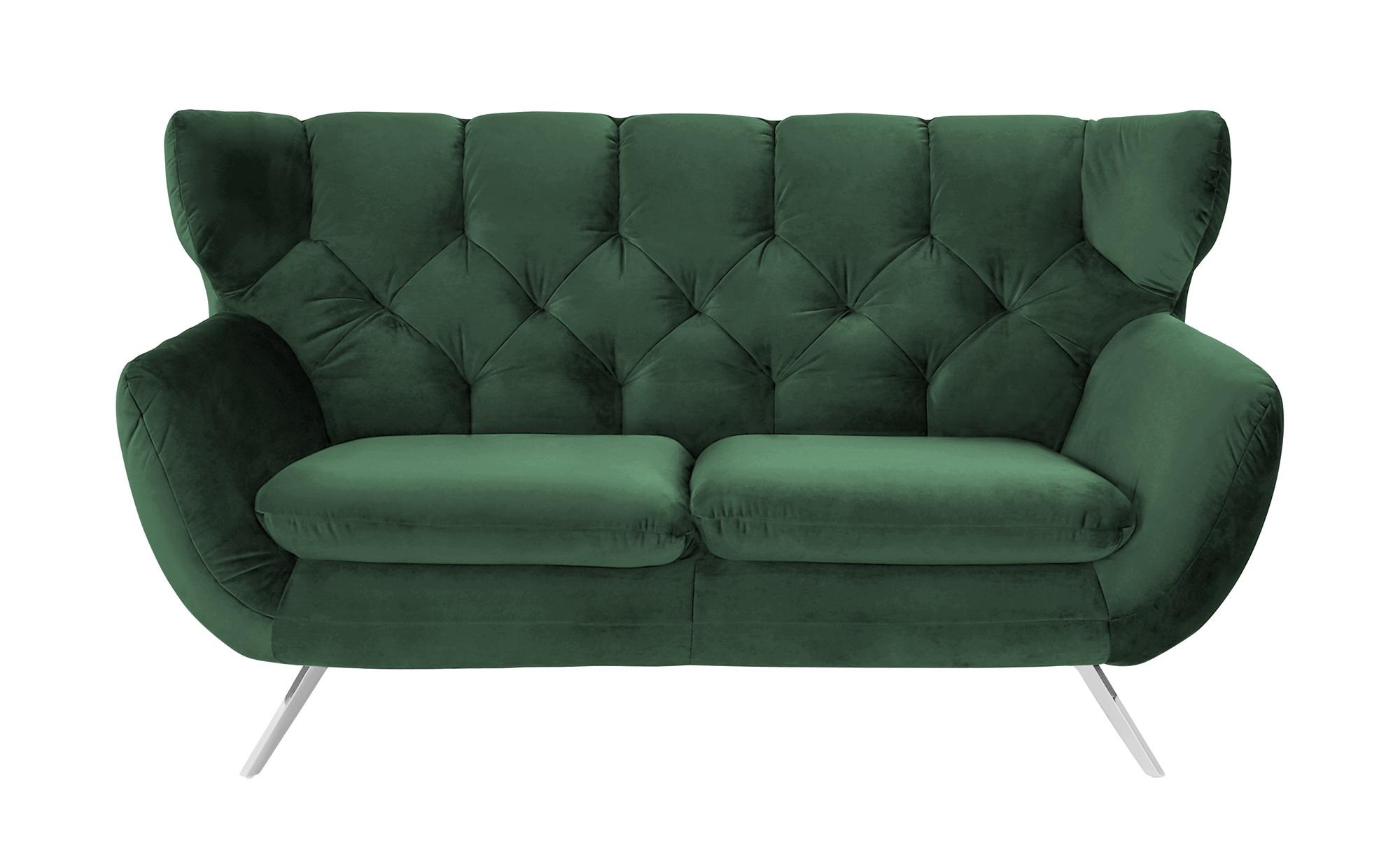 Sofa  Caldara ¦ grün ¦ Maße (cm): B: 175 H: 94 T: 95 Polstermöbel > Sofas > 2-Sitzer - Höffner