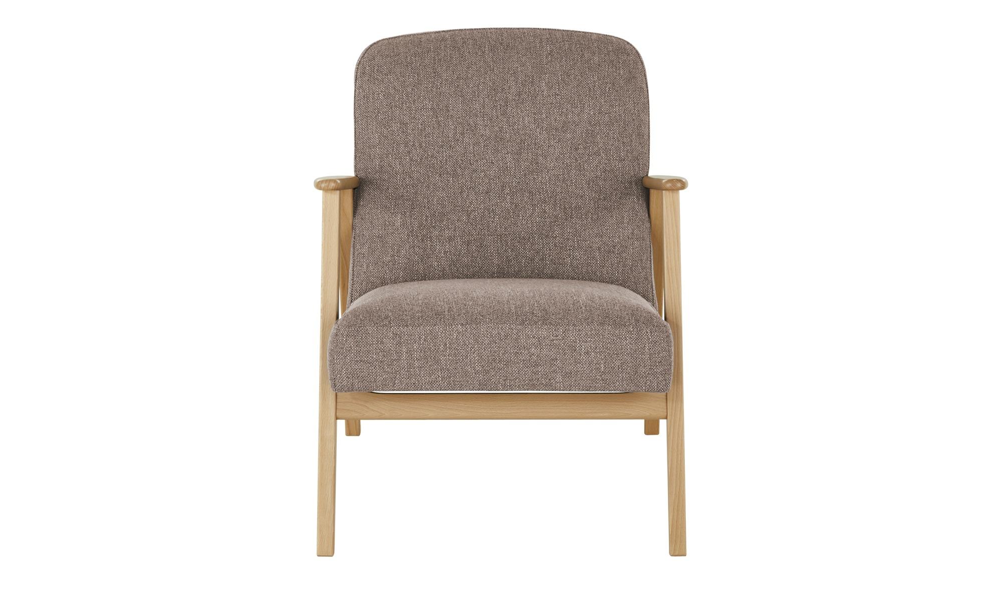 smart Sessel  Rada ¦ braun ¦ Maße (cm): B: 64 H: 76 T: 83 Polstermöbel > Sessel > Polstersessel - Höffner