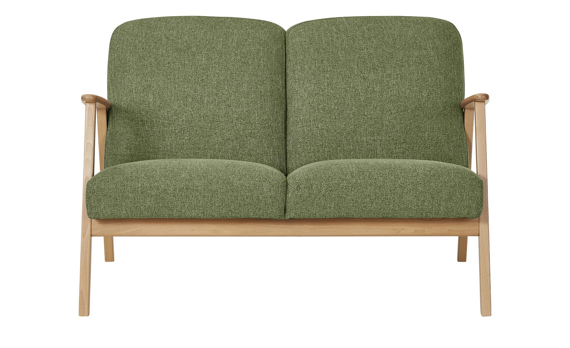 smart Sofa  Rada ¦ grün ¦ Maße (cm): B: 120 H: 76 T: 83 Polstermöbel > Sofas > 2-Sitzer - Höffner