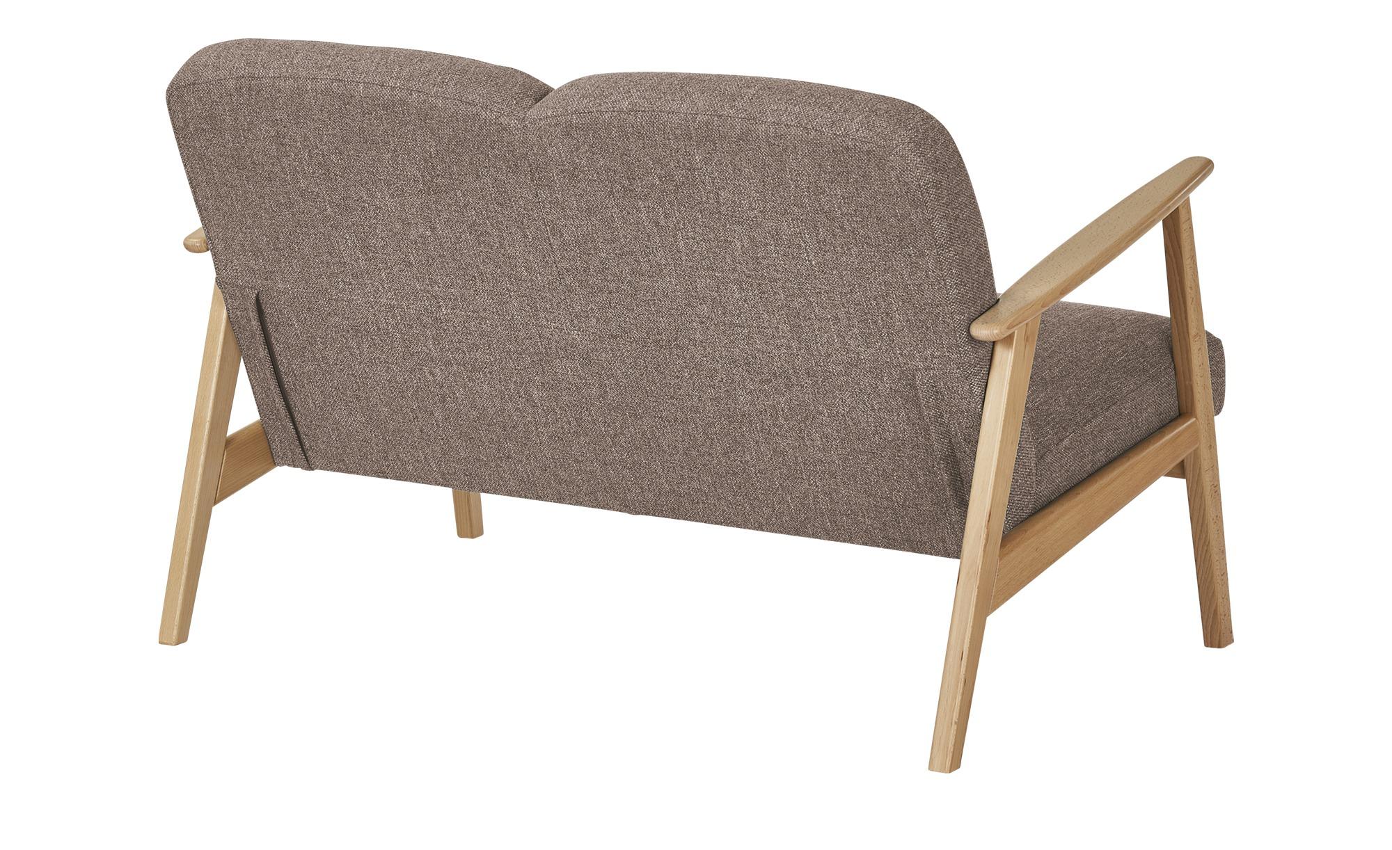 smart Sofa  Rada ¦ braun ¦ Maße (cm): B: 120 H: 76 T: 83 Polstermöbel > Sofas > 2-Sitzer - Höffner