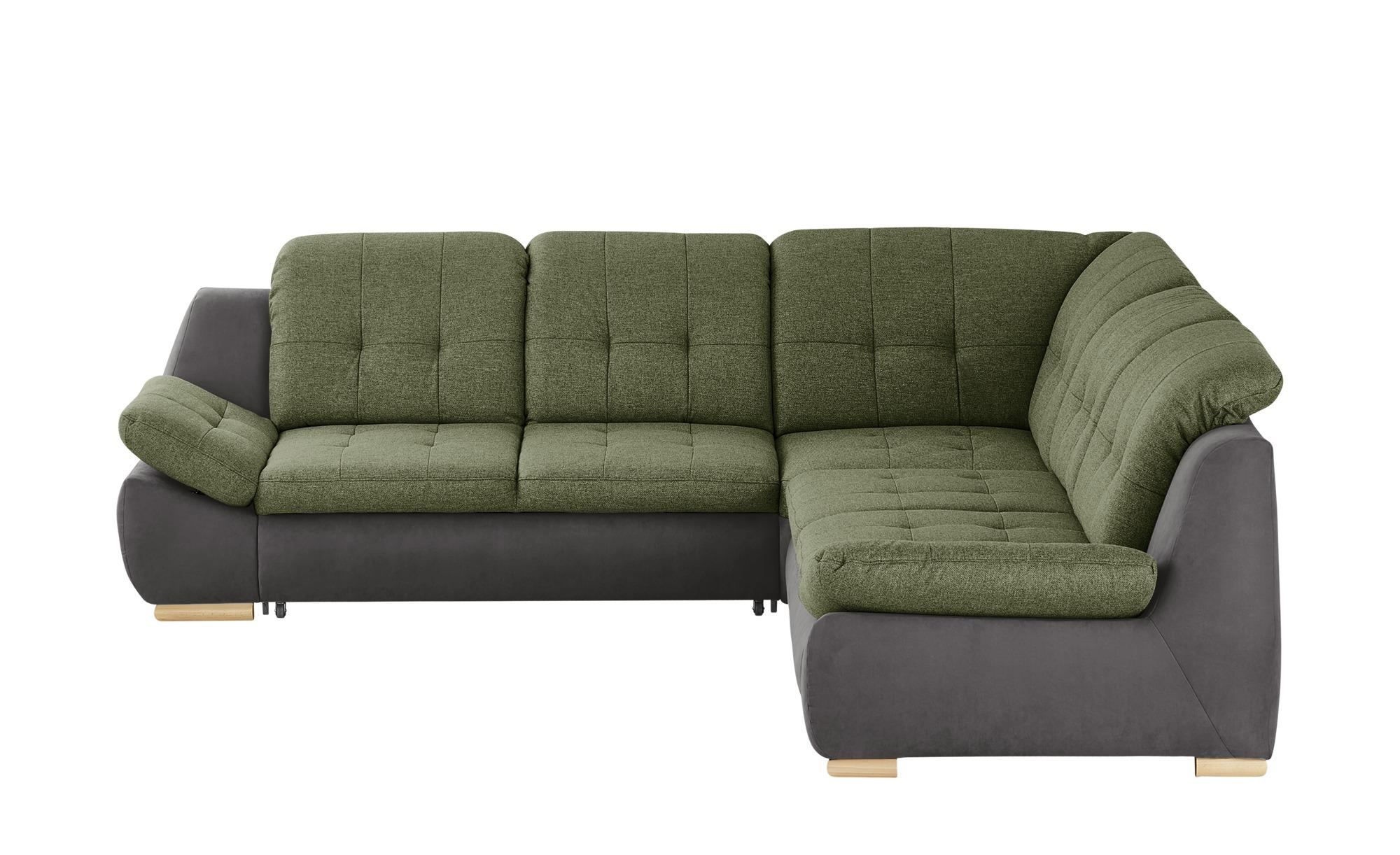Ecksofa  Lilli ¦ grün ¦ Maße (cm): H: 82 Polstermöbel > Sofas > Ecksofas - Höffner