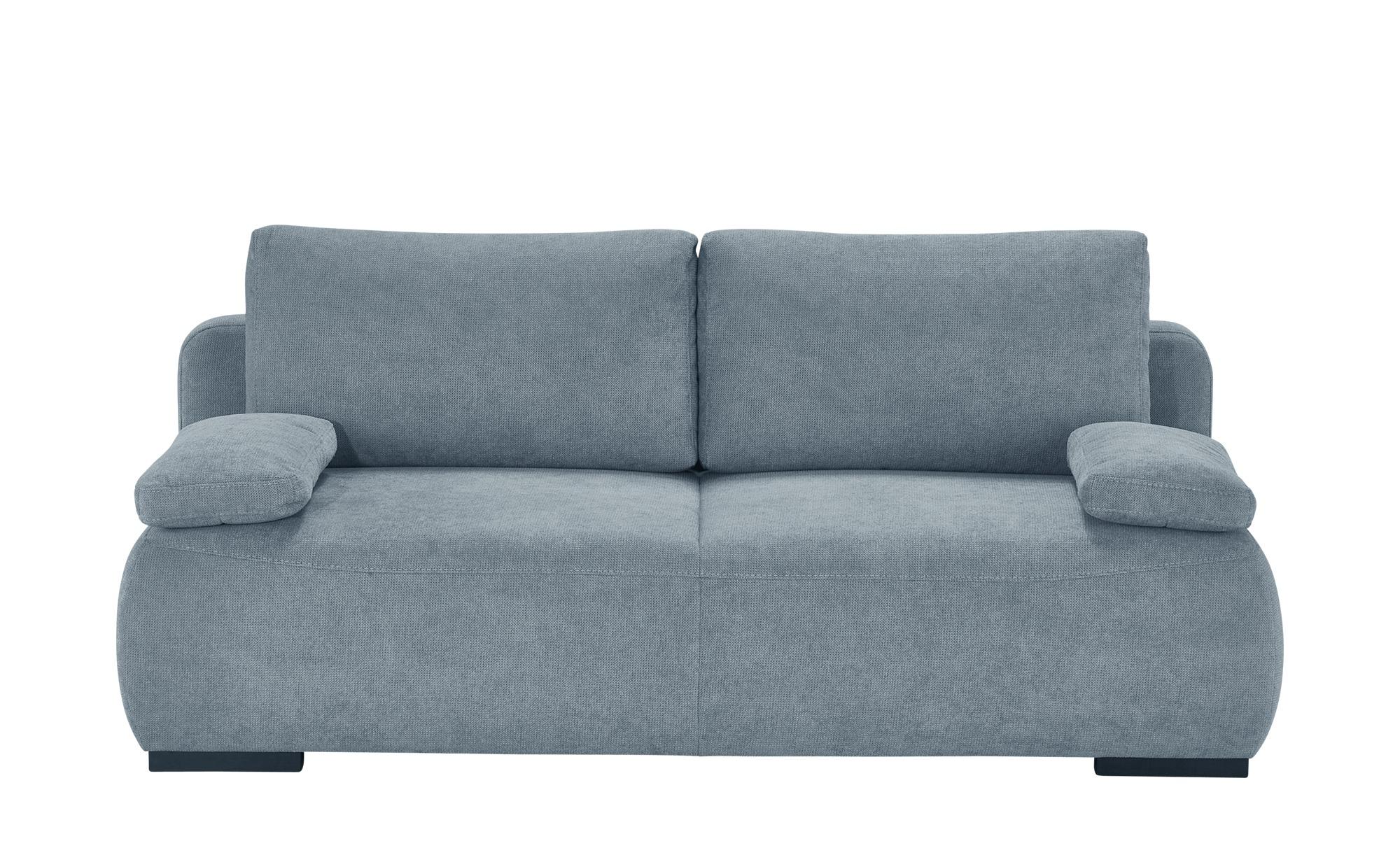 bobb Schlafsofa  Liora de Luxe ¦ blau ¦ Maße (cm): B: 204 H: 86 T: 96 Polstermöbel > Sofas > Einzelsofas - Höffner