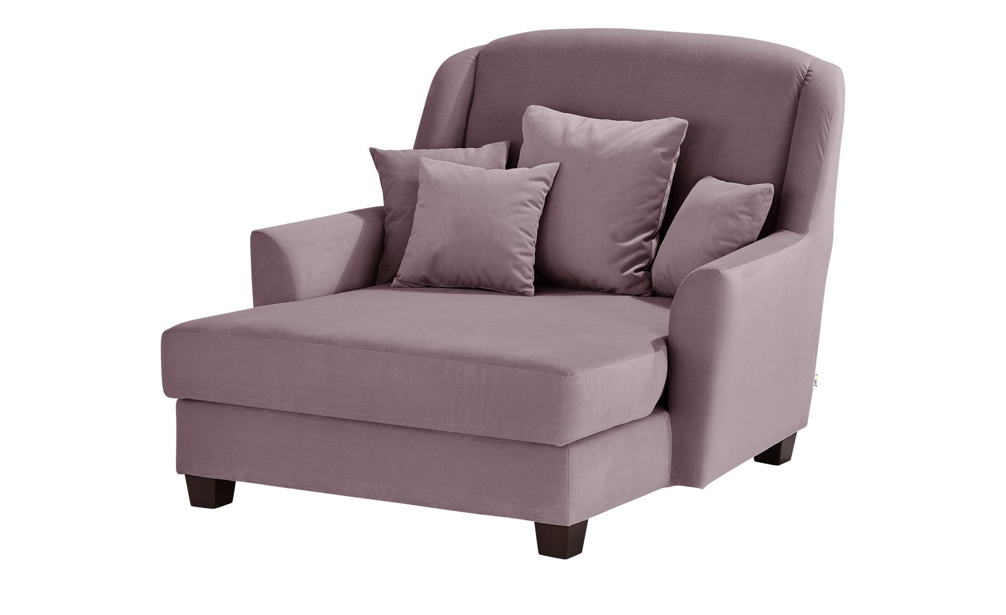 smart Sessel  Lisbeth ¦ rosa/pink ¦ Maße (cm): B: 135 H: 100 T: 144 Polstermöbel > Sessel > Ohrensessel - Höffner