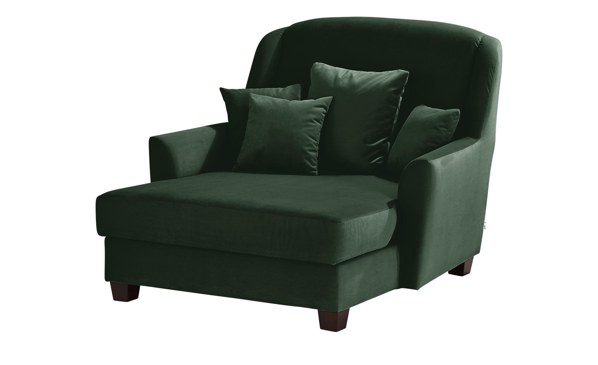smart Sessel  Lisbeth ¦ grün ¦ Maße (cm): B: 135 H: 100 T: 144 Polstermöbel > Sessel > Ohrensessel - Höffner