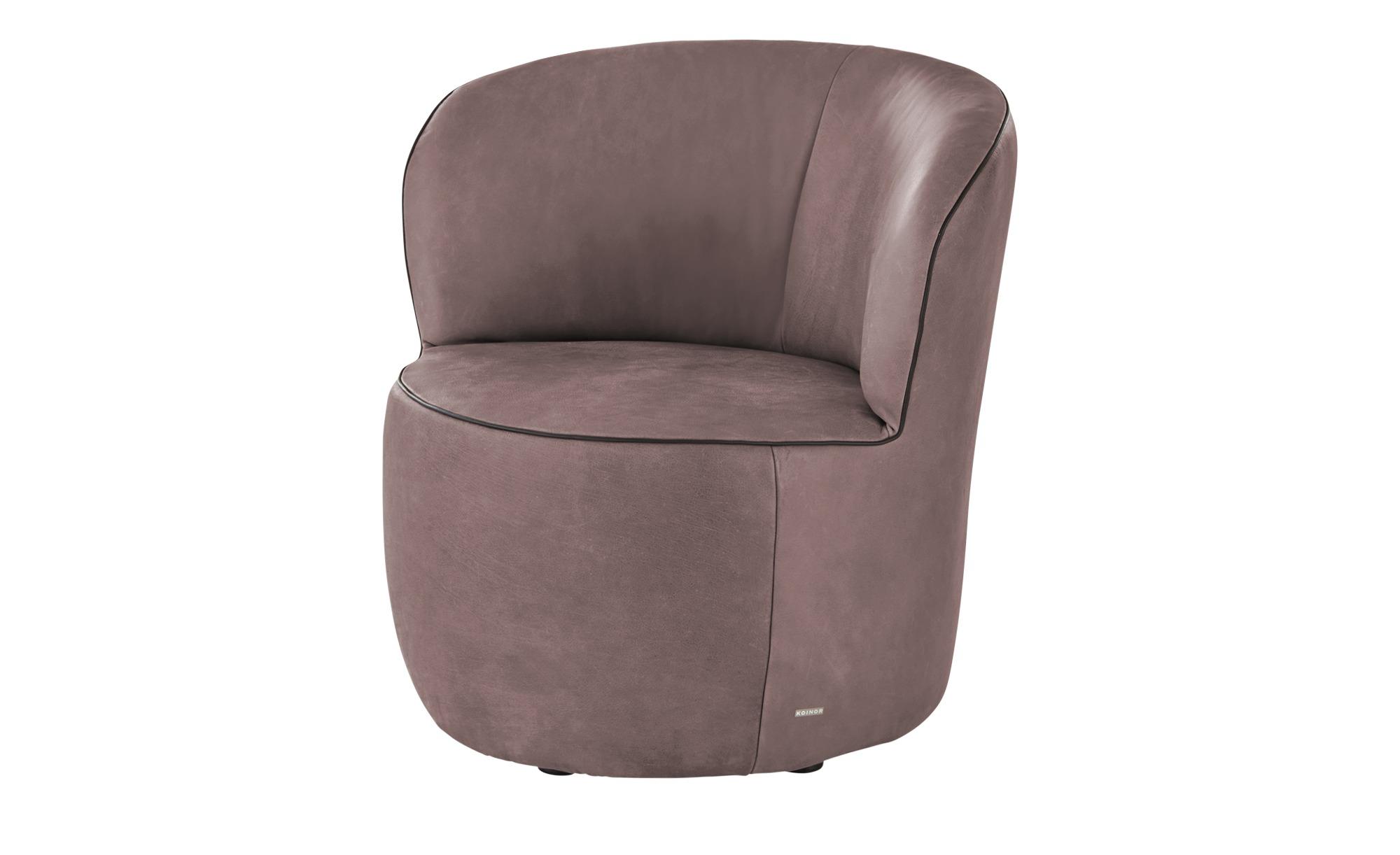 KOINOR Sessel  Igor ¦ rosa/pink ¦ Maße (cm): B: 73 H: 70 T: 72 Polstermöbel > Sessel > Ledersessel - Höffner